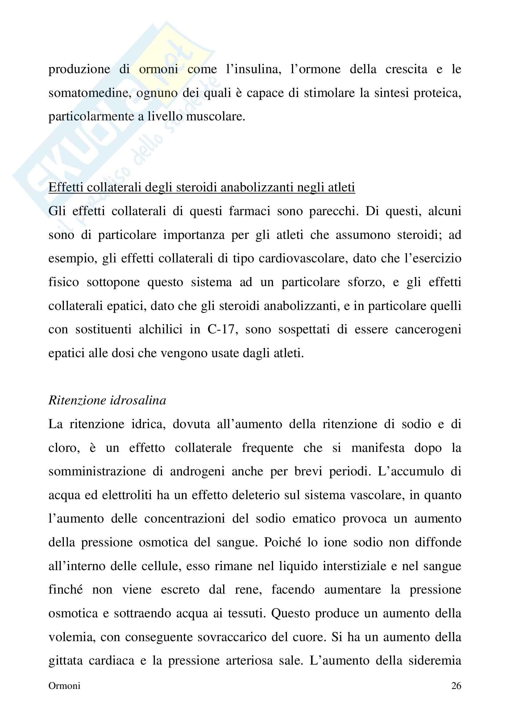 Chimica farmaceutica - ormoni Pag. 26