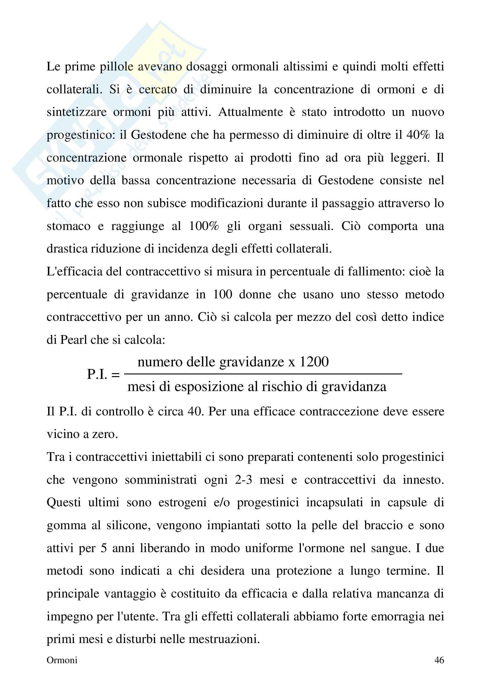 Chimica farmaceutica - ormoni Pag. 46