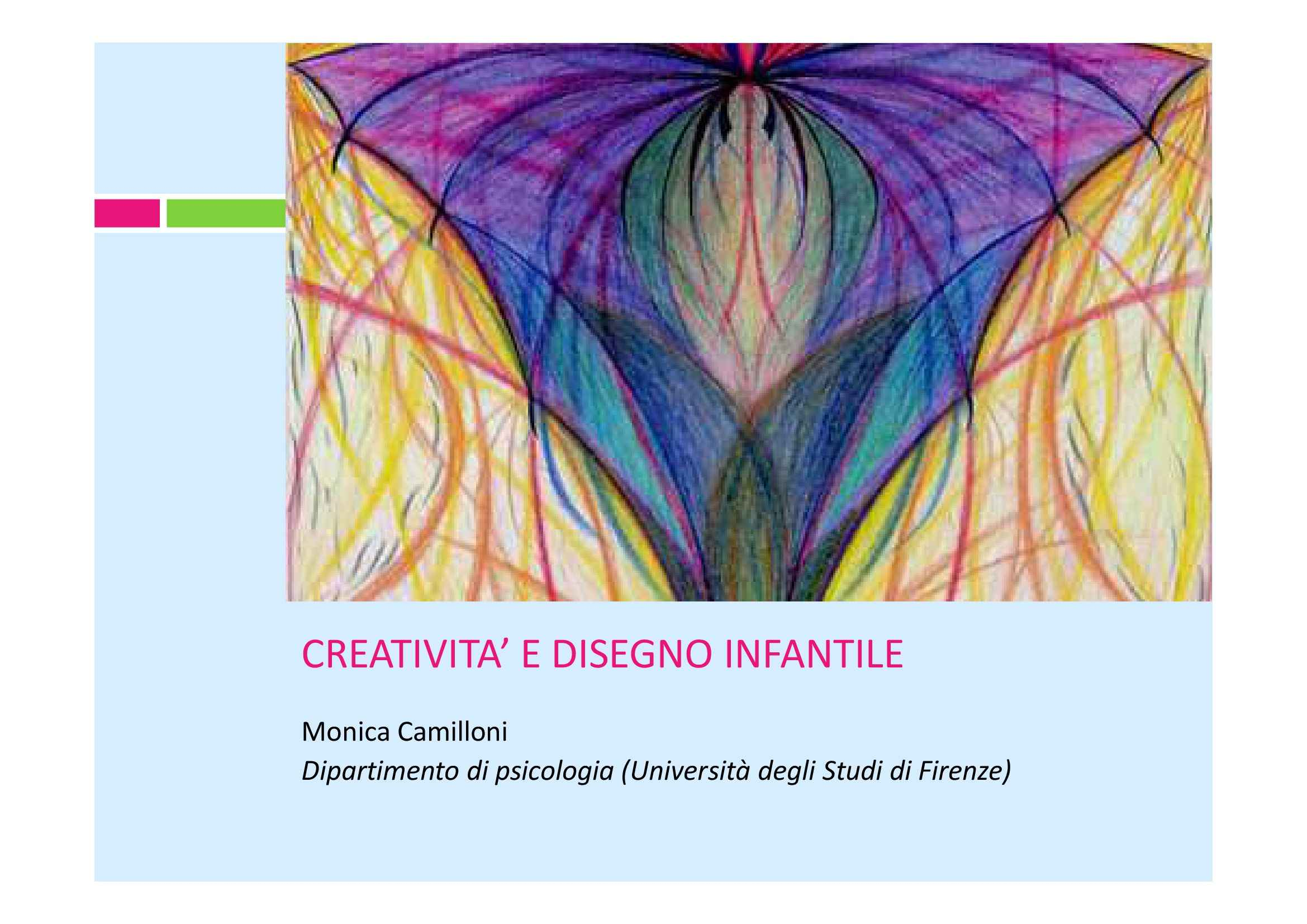Creatività e disegno infantile