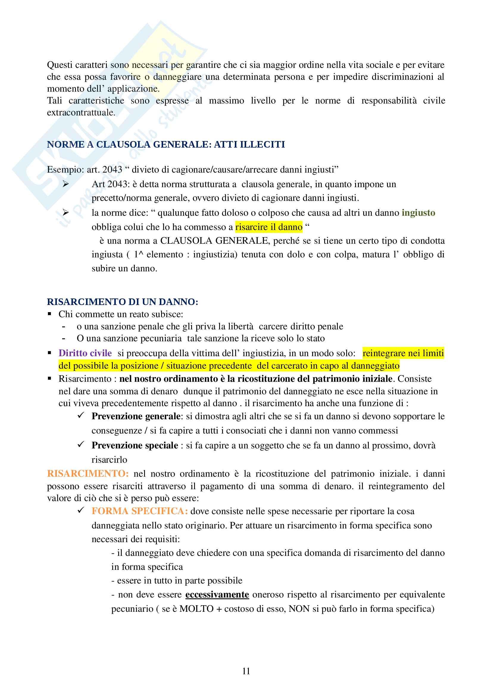 Appunti Diritto privato Pag. 11