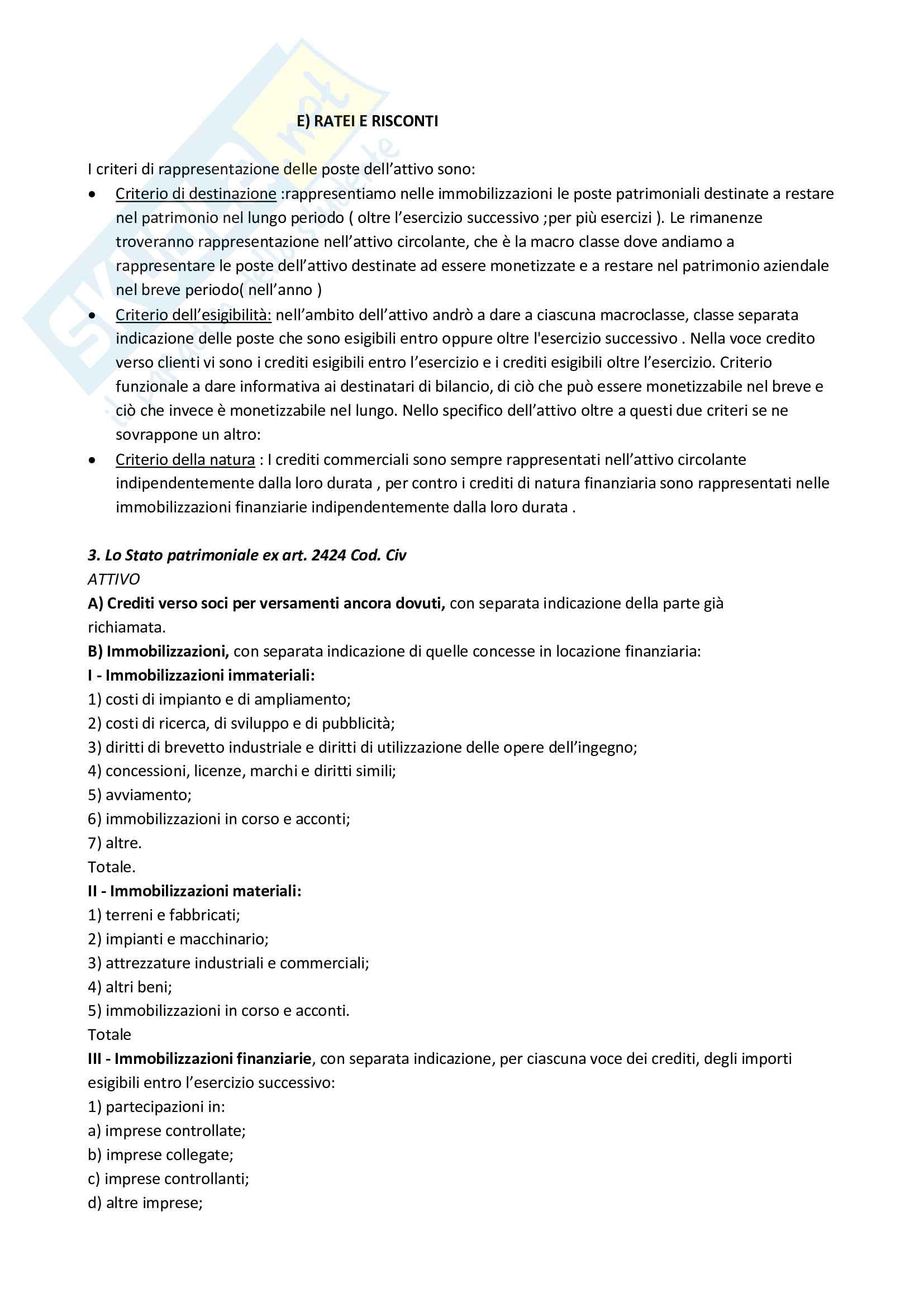Metodologie e determinazioni quantitative d'azienda Pag. 21
