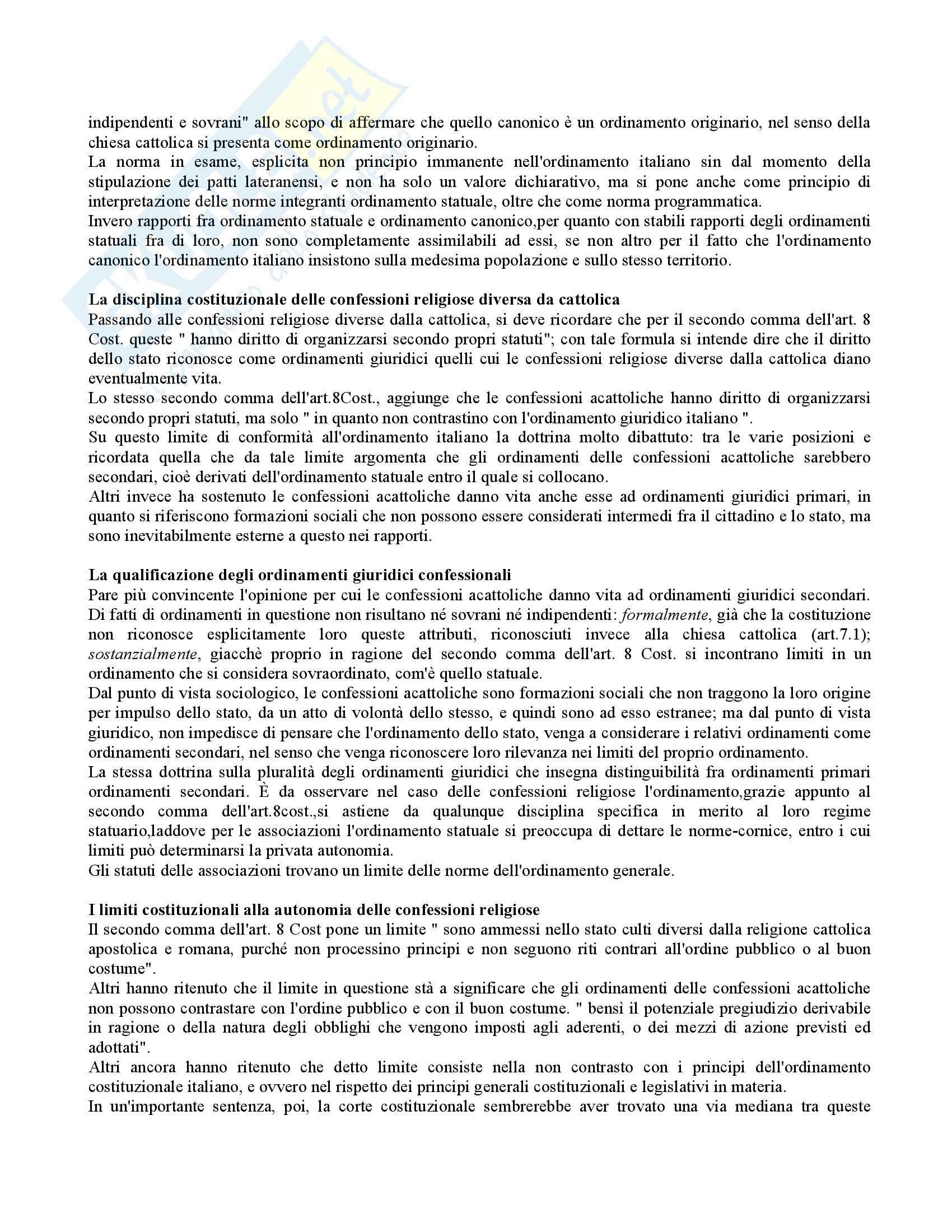 Diritto canonico e diritto ecclesiastico - le basi Pag. 16