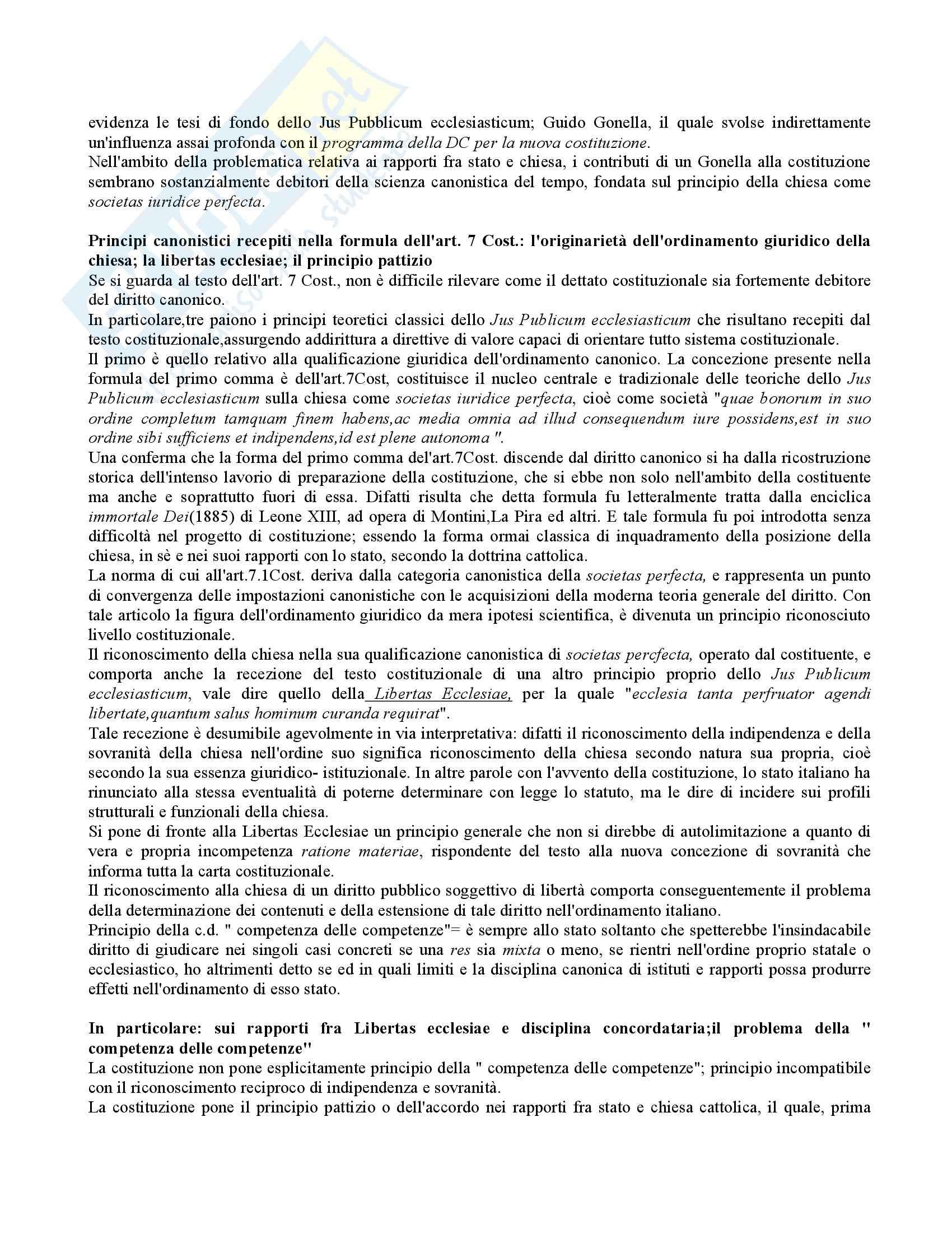 Diritto canonico e diritto ecclesiastico - le basi Pag. 2