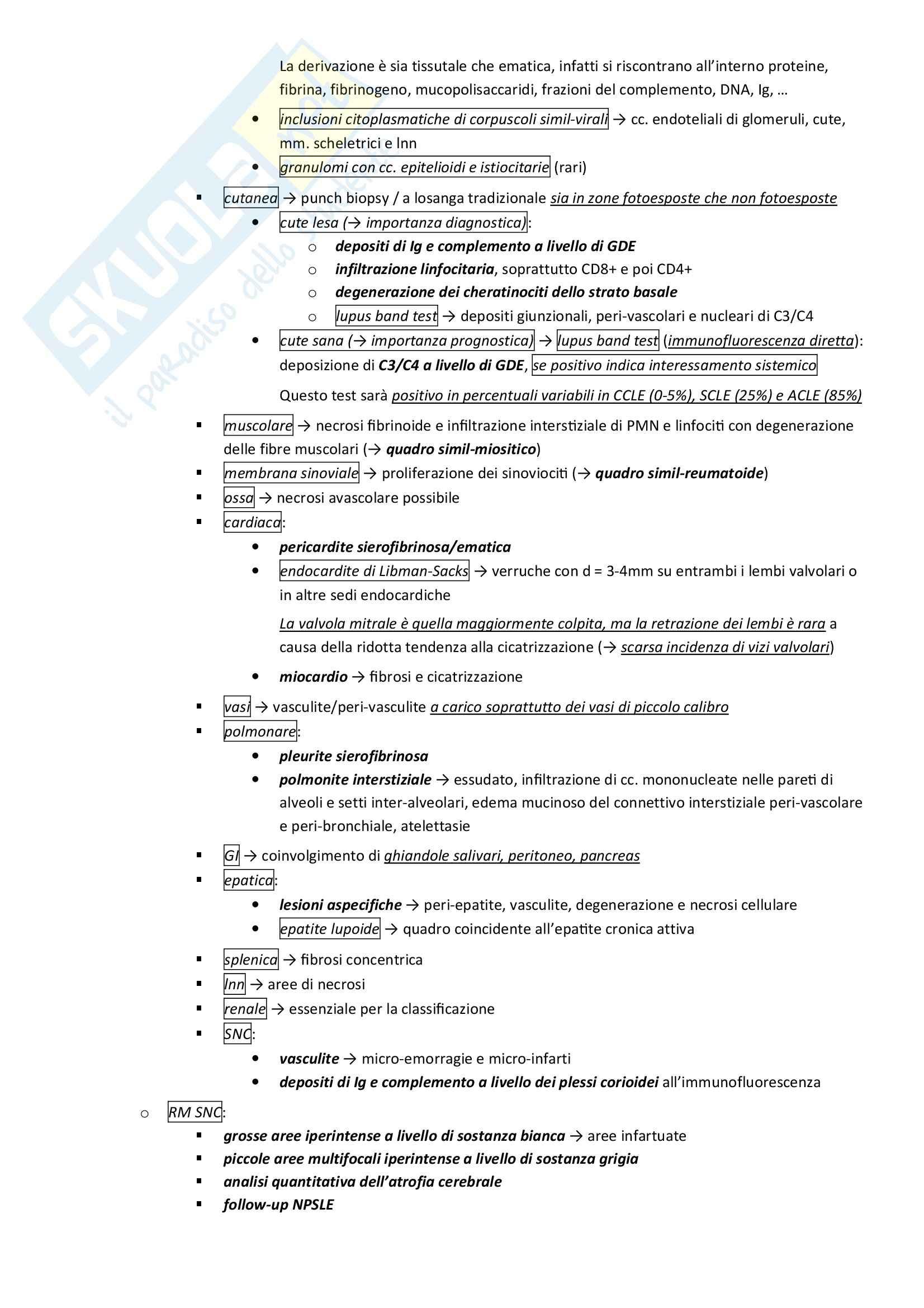 Lezioni, Reumatologia Pag. 61