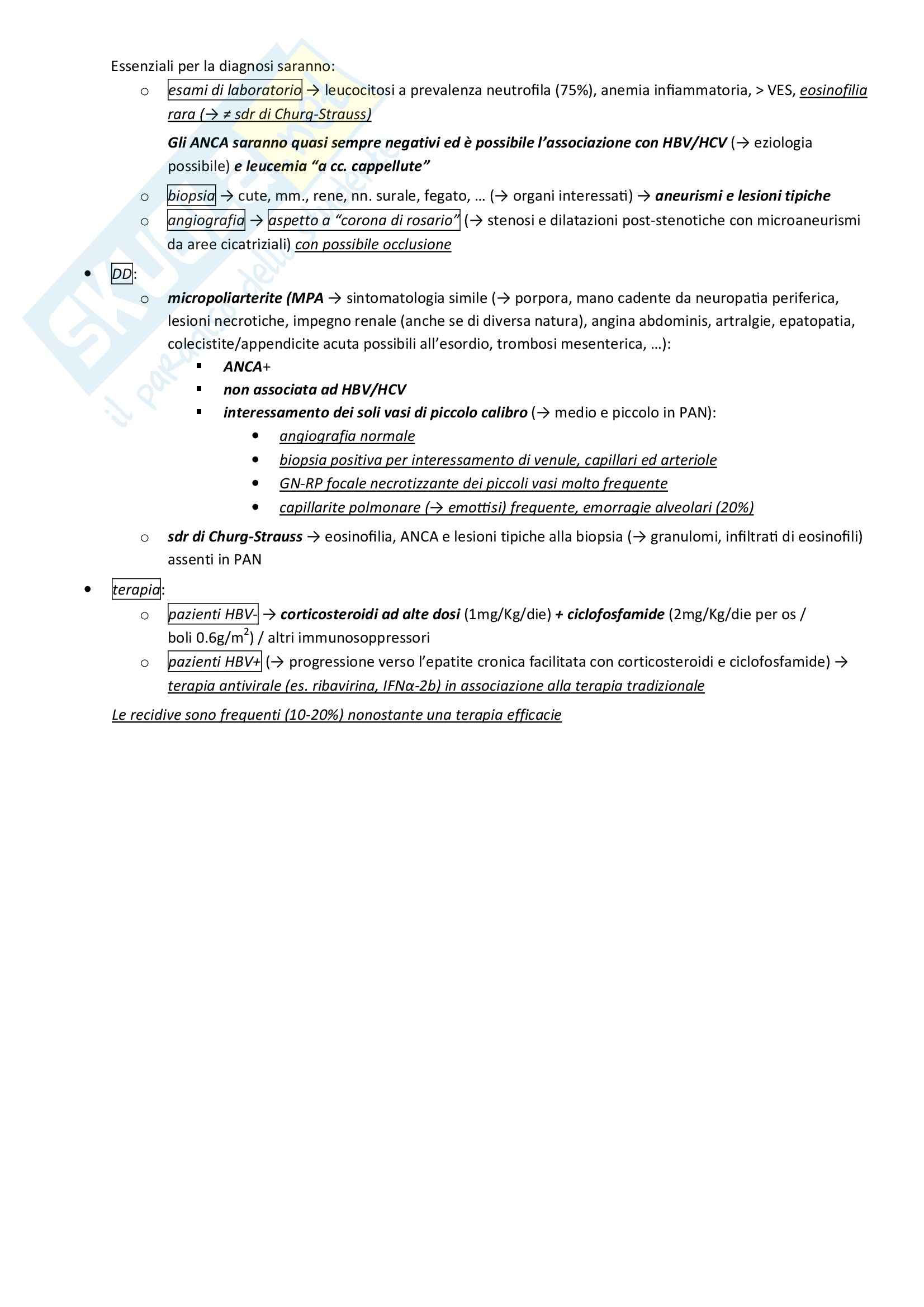 Lezioni, Reumatologia Pag. 86