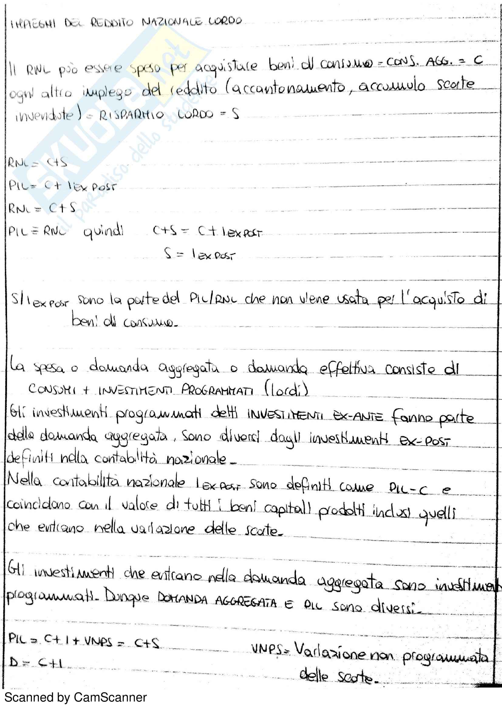 Lezioni, Macroeconomia Pag. 11