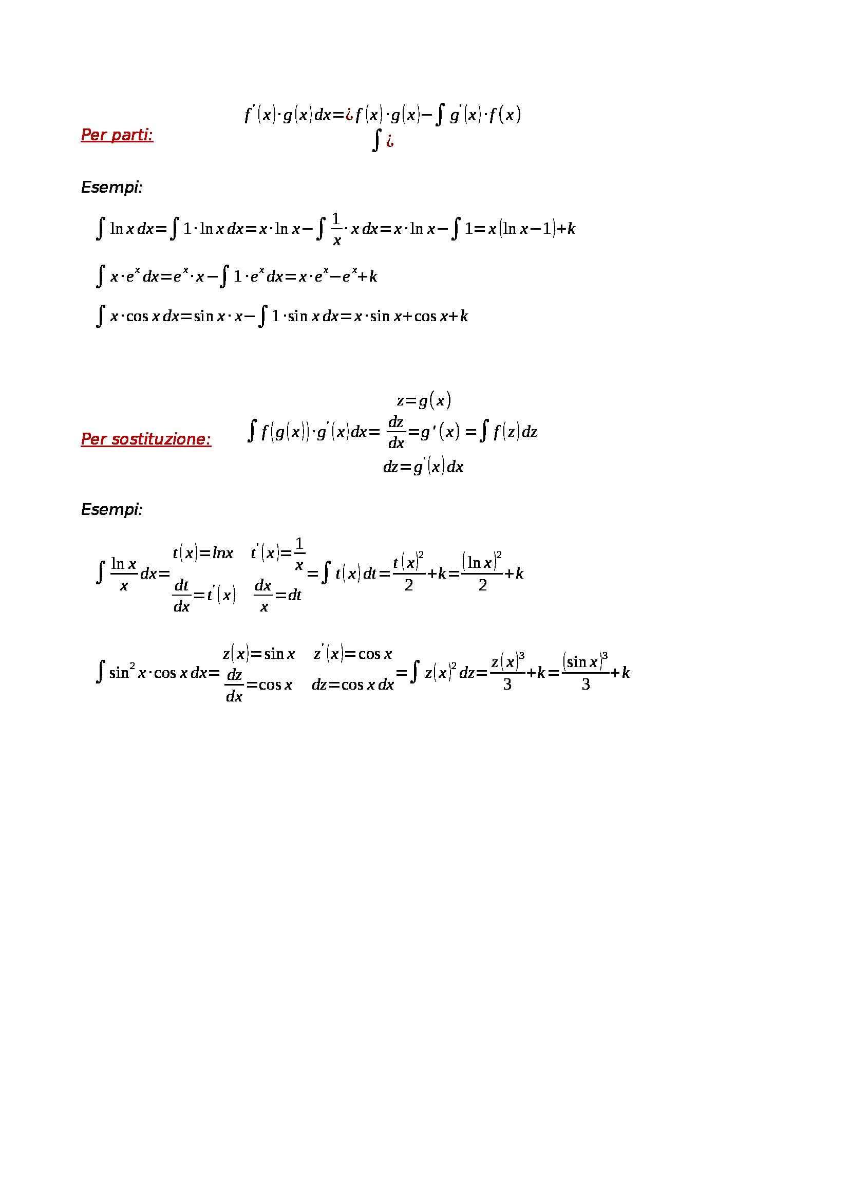 Matematica e laboratorio - formulario per studio di funzione Pag. 6