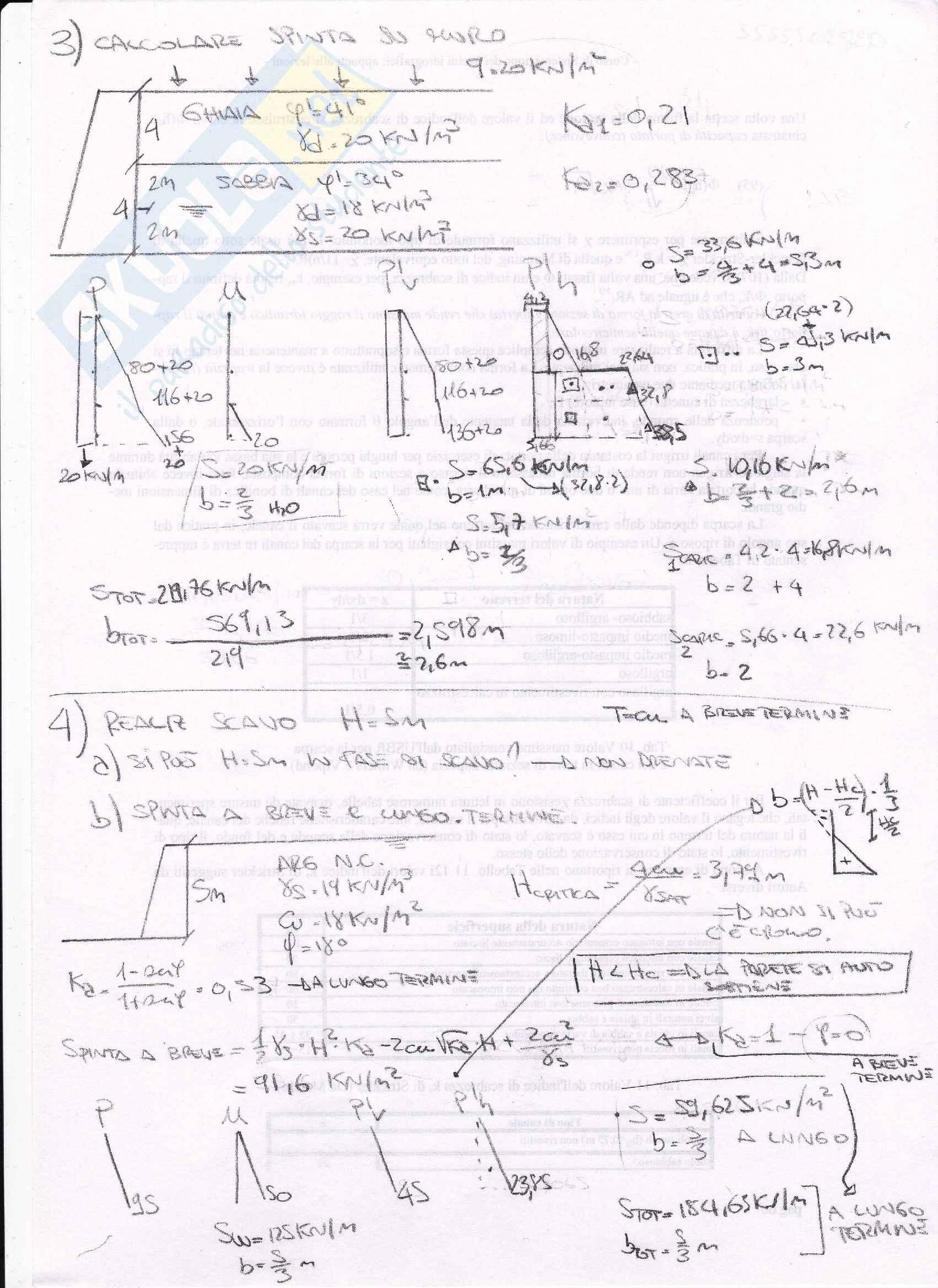 Esercizi di geotecnica e fondazioni Pag. 6