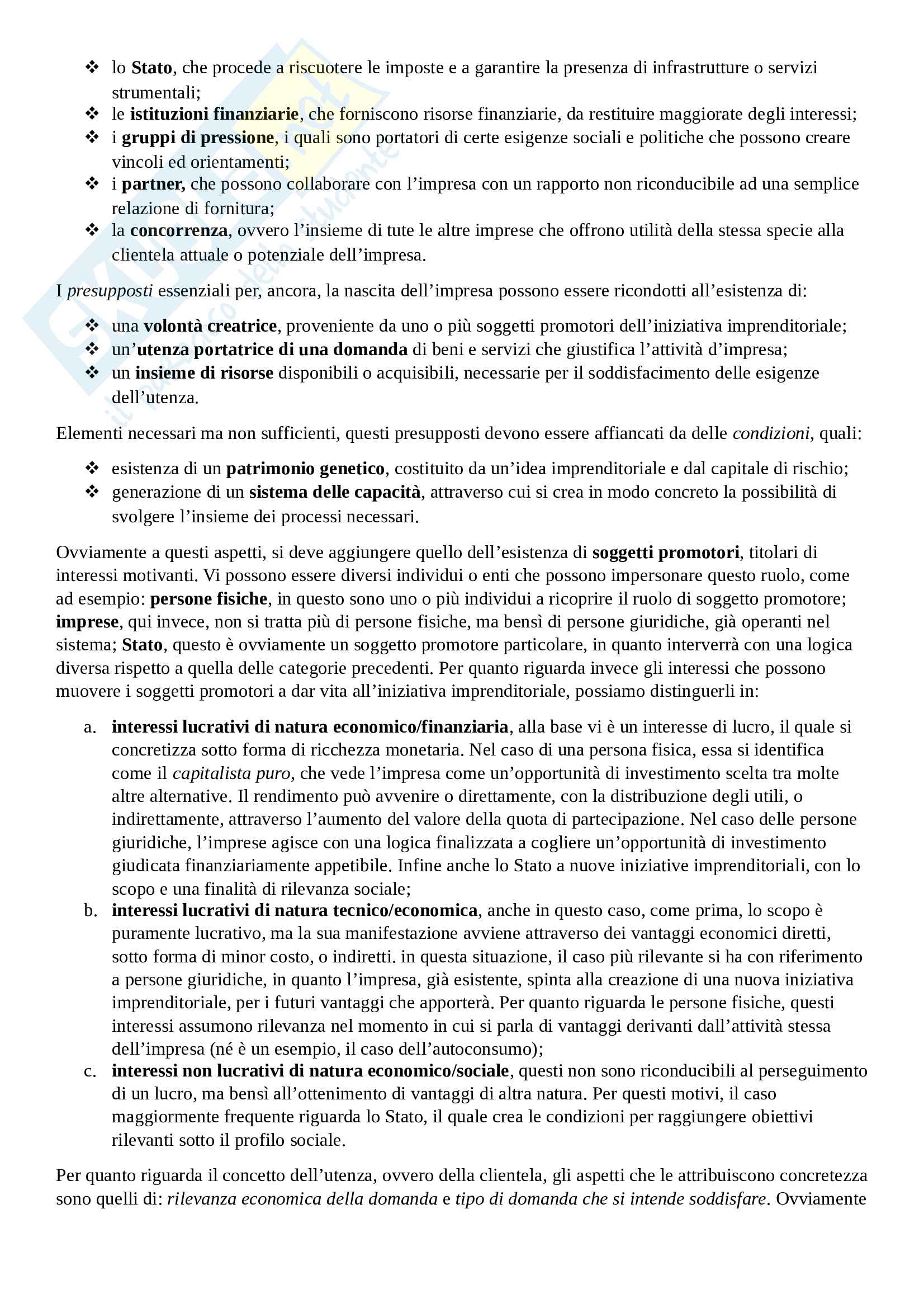 Economia e Gestione delle imprese Pag. 2