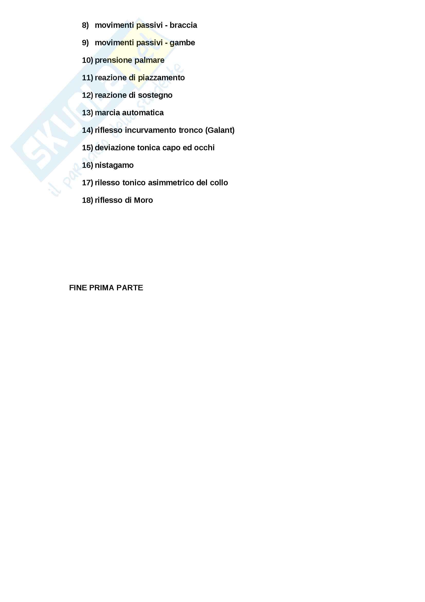 Psicologia dello sviluppo,  Dondi Unife appunti classe Pag. 16