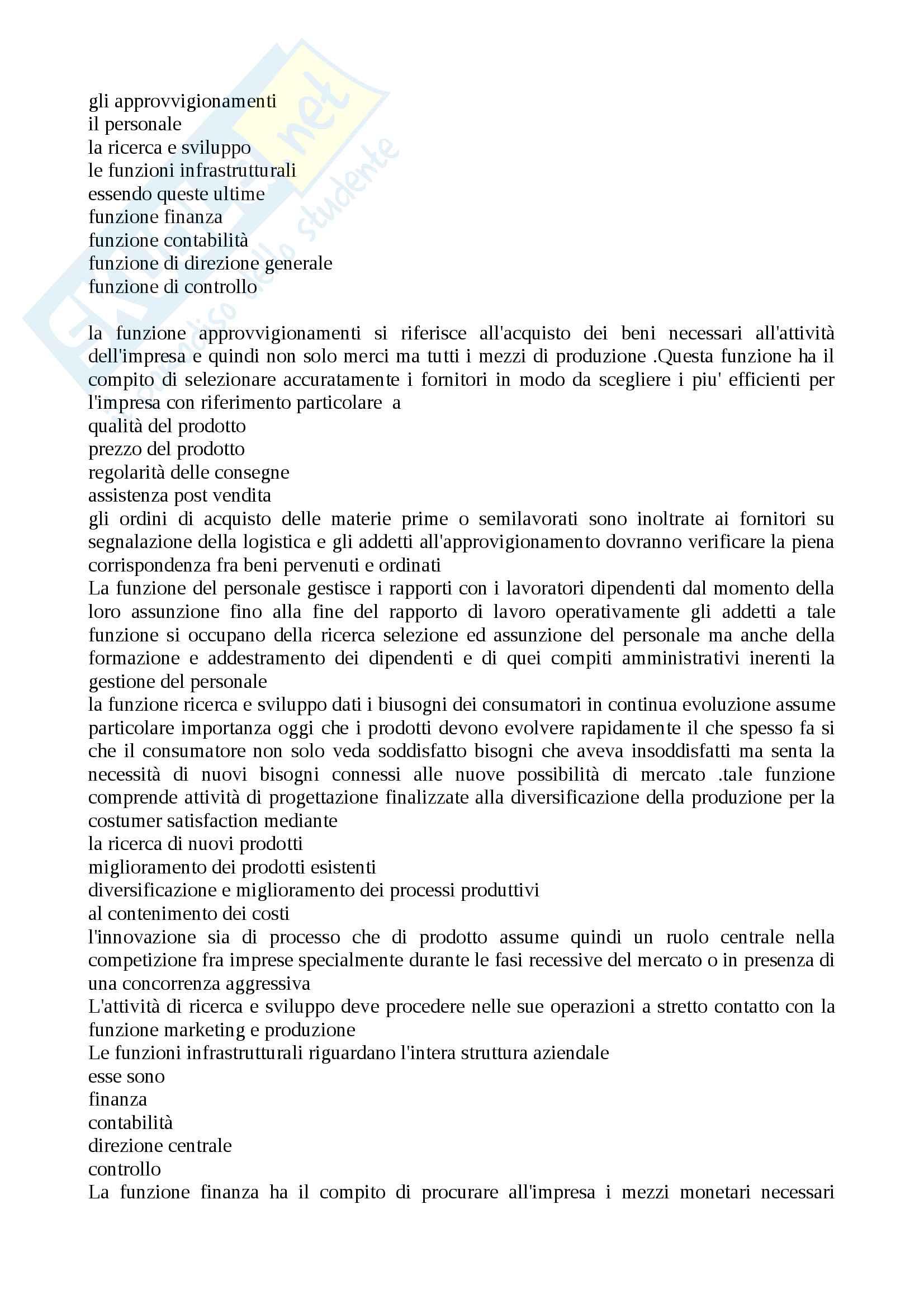 Appunti sull'azienda Pag. 6