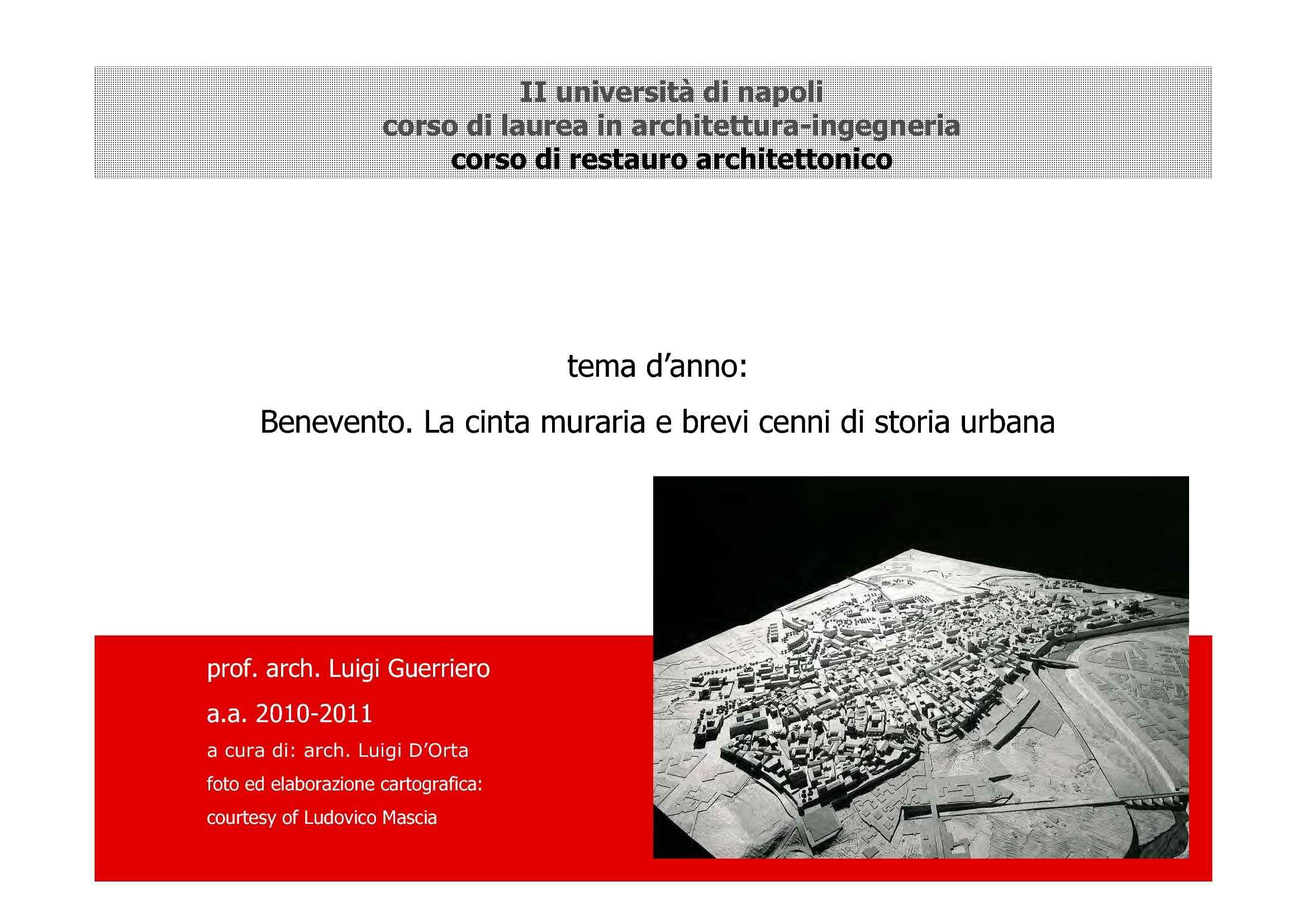 Storia urbana di Benevento