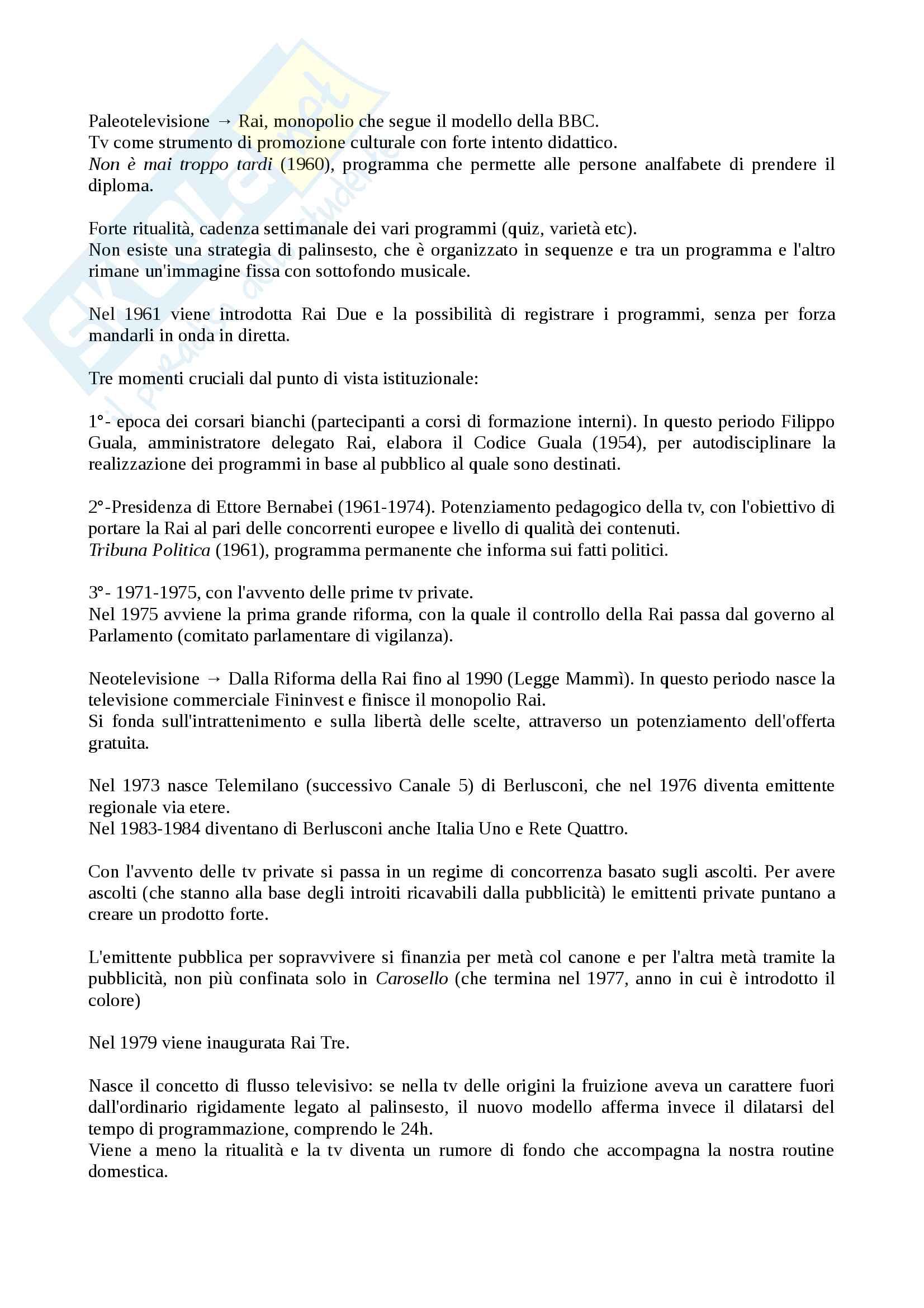 Riassunto esame Teorie e Tecniche della Fiction Radiotelevisiva, prof. Cardini, libro consigliato Le Serie Sono Serie, Cardini Pag. 16