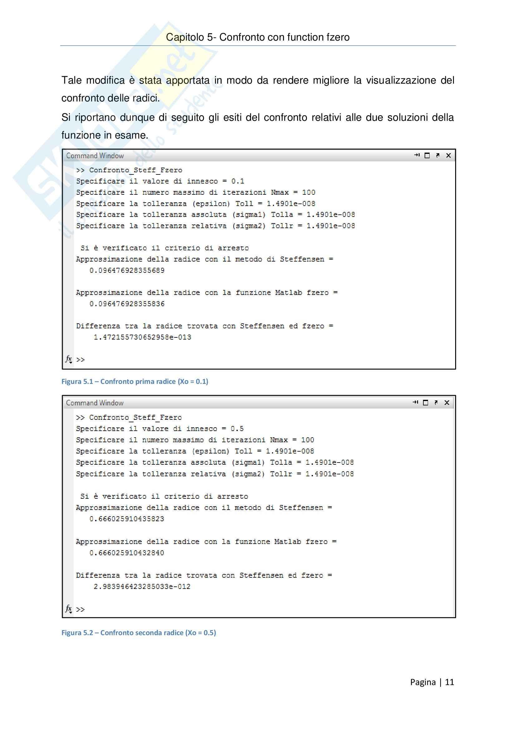 Metodi Numerici per l'Ingegneria - Relazione Pag. 11