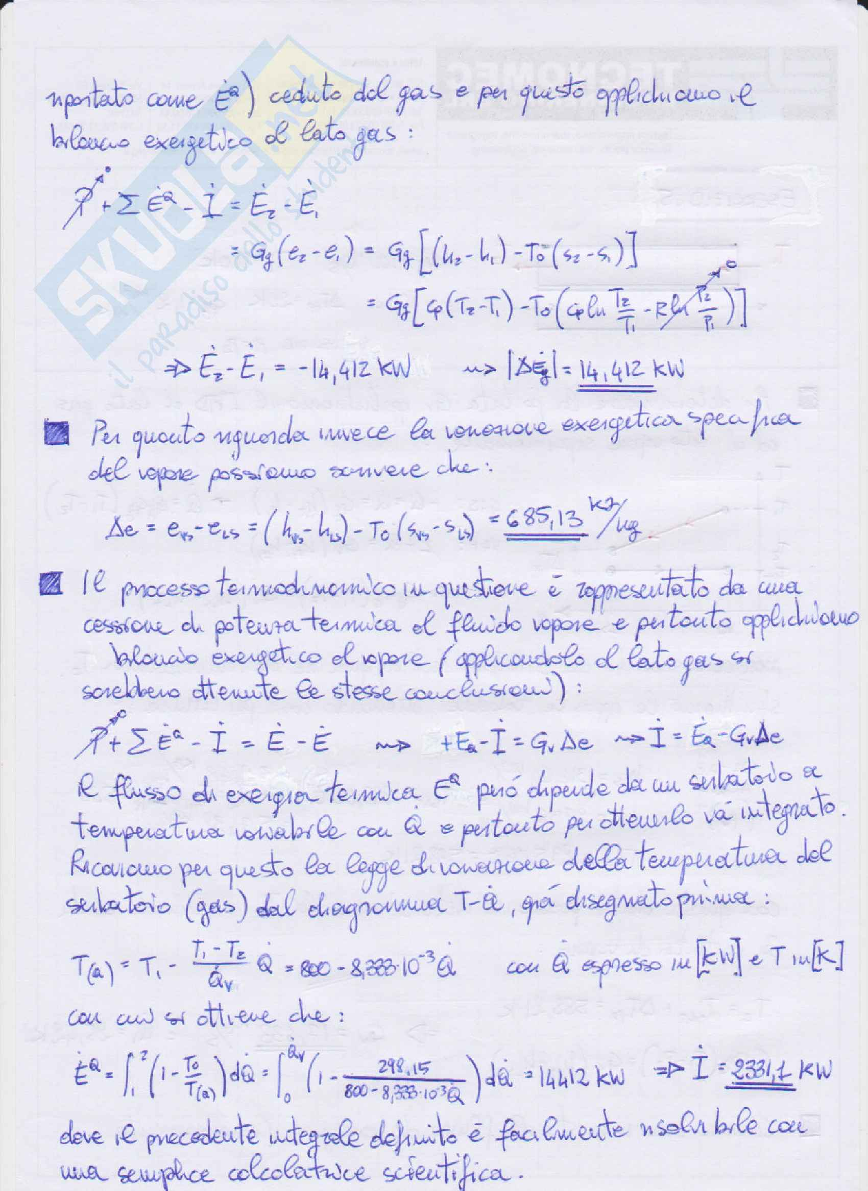 Appelli svolti di Sistemi Energetici 2 (+ formulario) [Se2] Pag. 16
