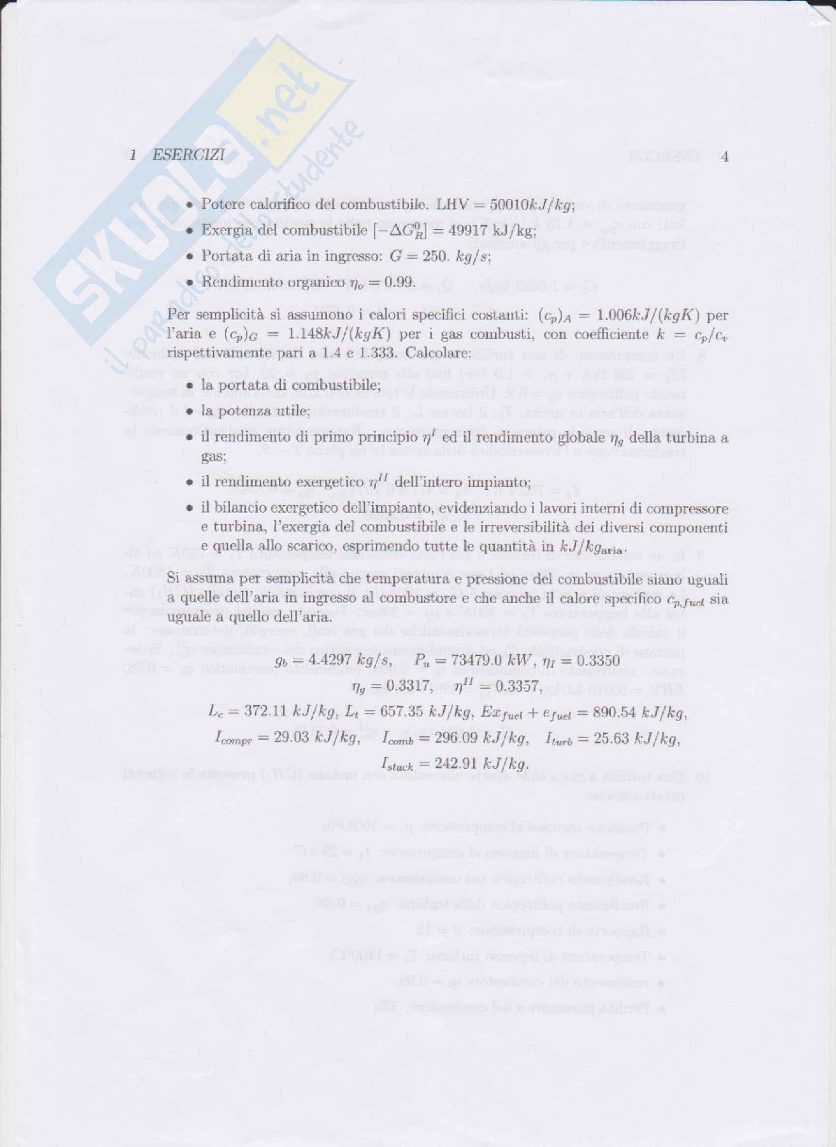 Appelli svolti di Sistemi Energetici 2 (+ formulario) [Se2] Pag. 6
