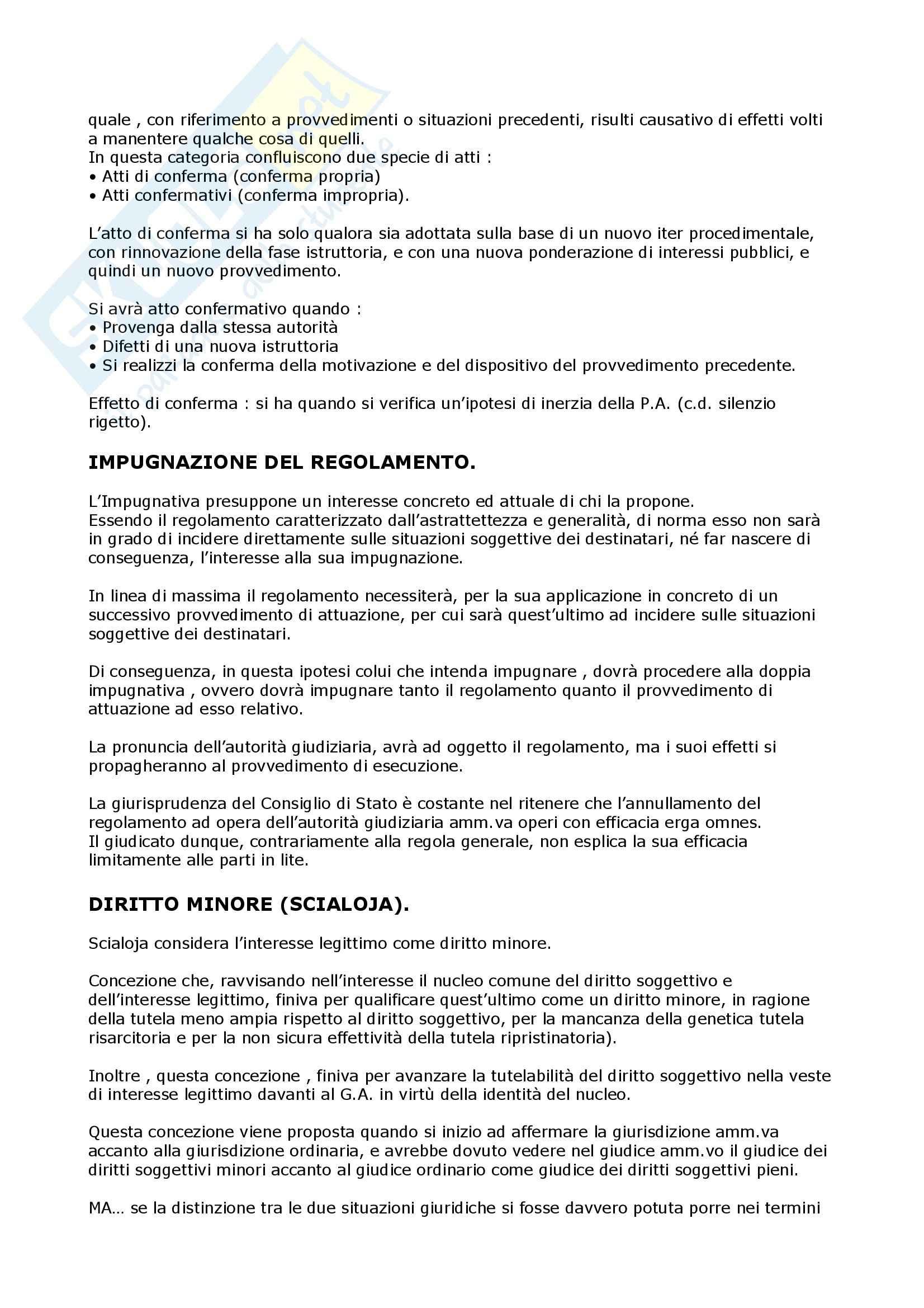 Giudice ordinario e amministrativo - Riparto della giurisdizione Pag. 2