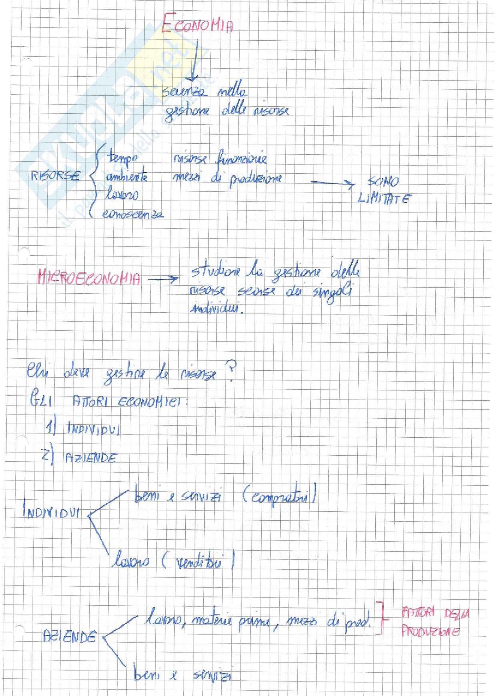 Appunti di economia applicata all'ingegneria