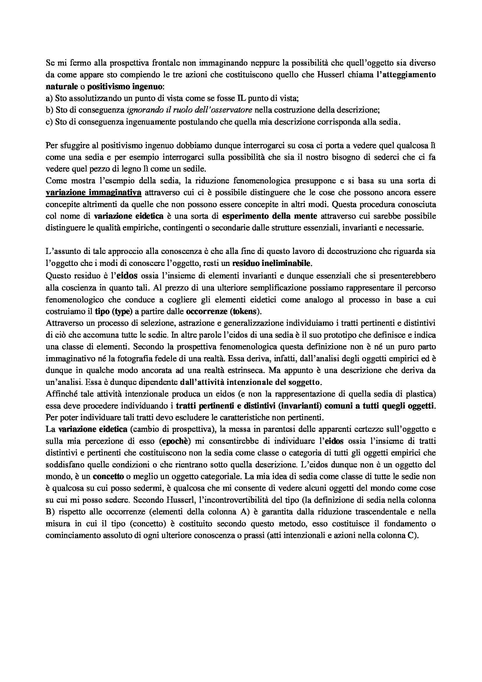 Riassunto esame Pedagogia delle migrazioni, prof. Caronia, libro consigliato Fenomenologia dell'educazione Pag. 11