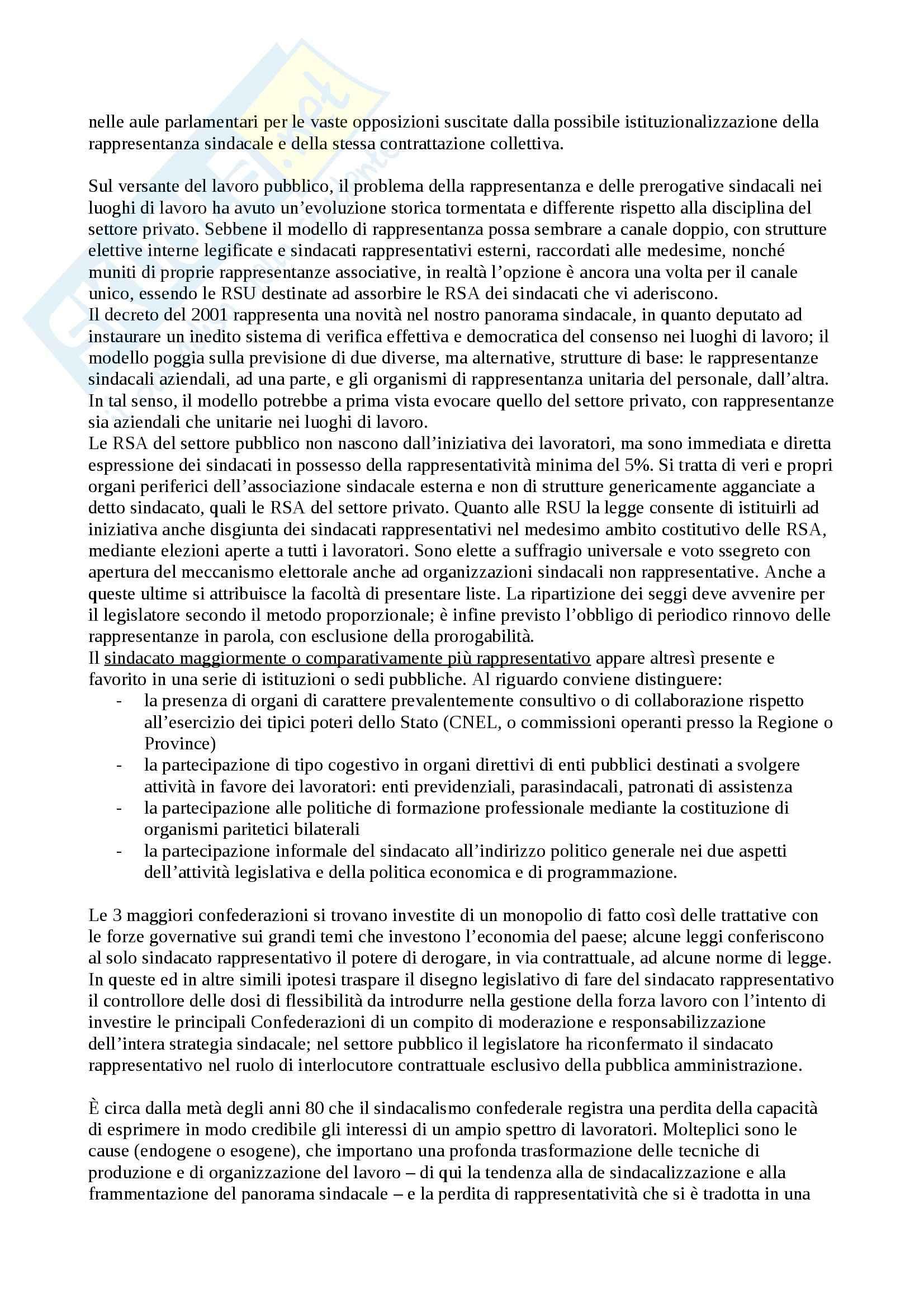 Diritto del lavoro - Appunti Pag. 76