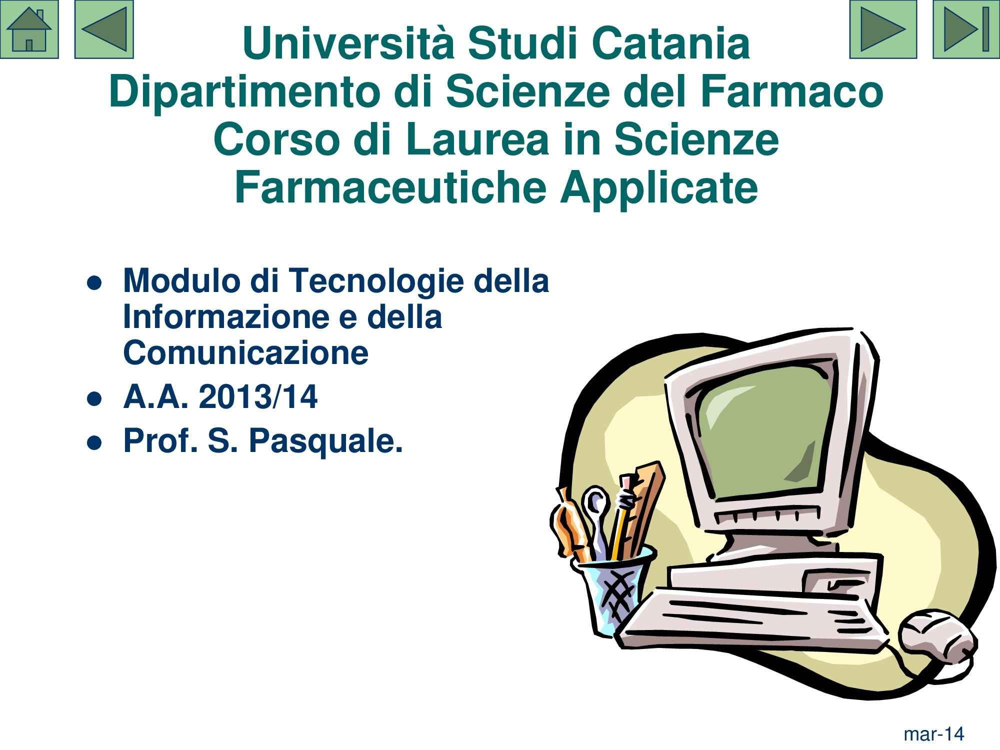 TIC - Tecnologia dell'Informazione e della Comunicazione