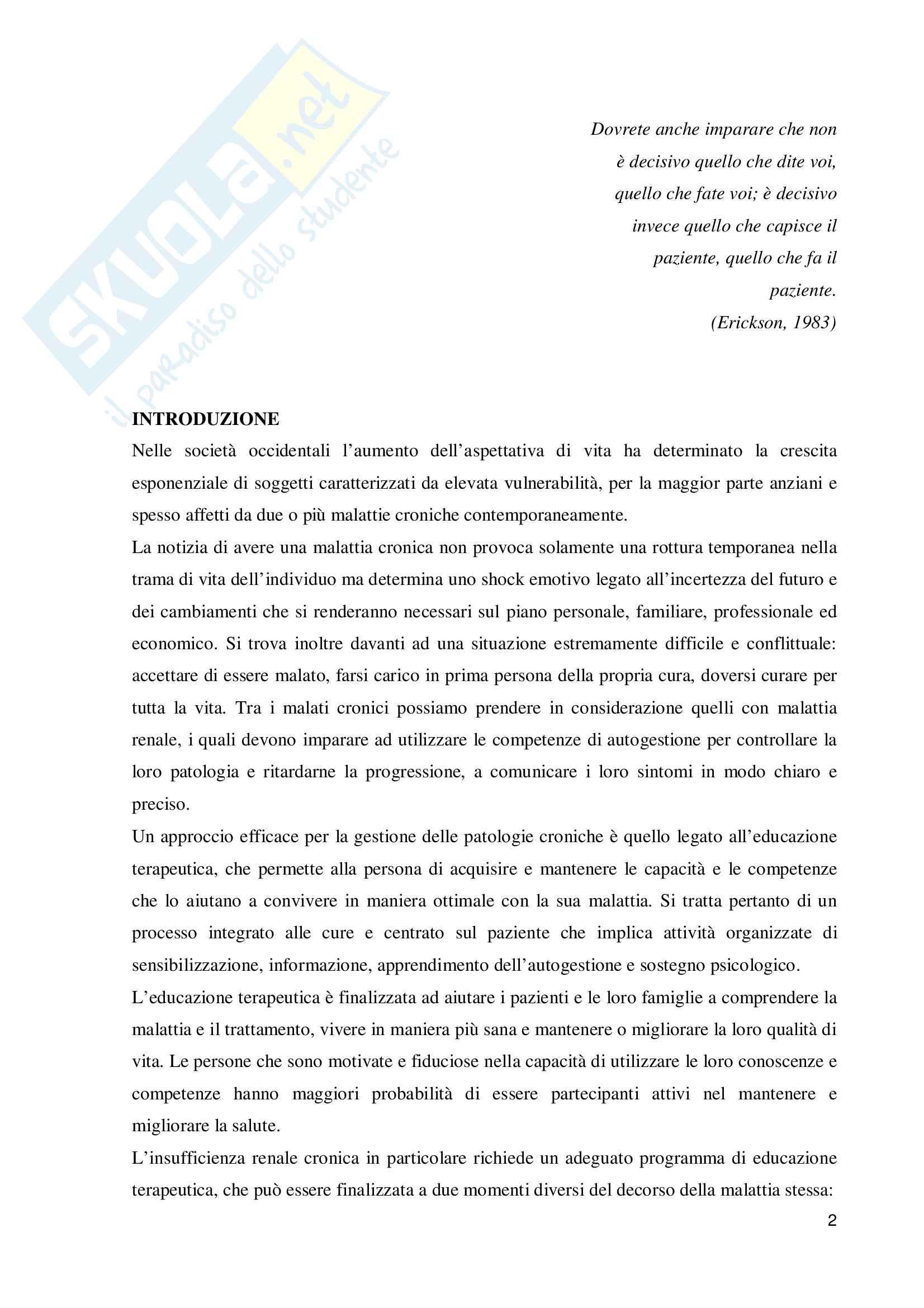 La health literacy in soggetti con insufficienza renale cronica sottoposti a dialisi Pag. 2