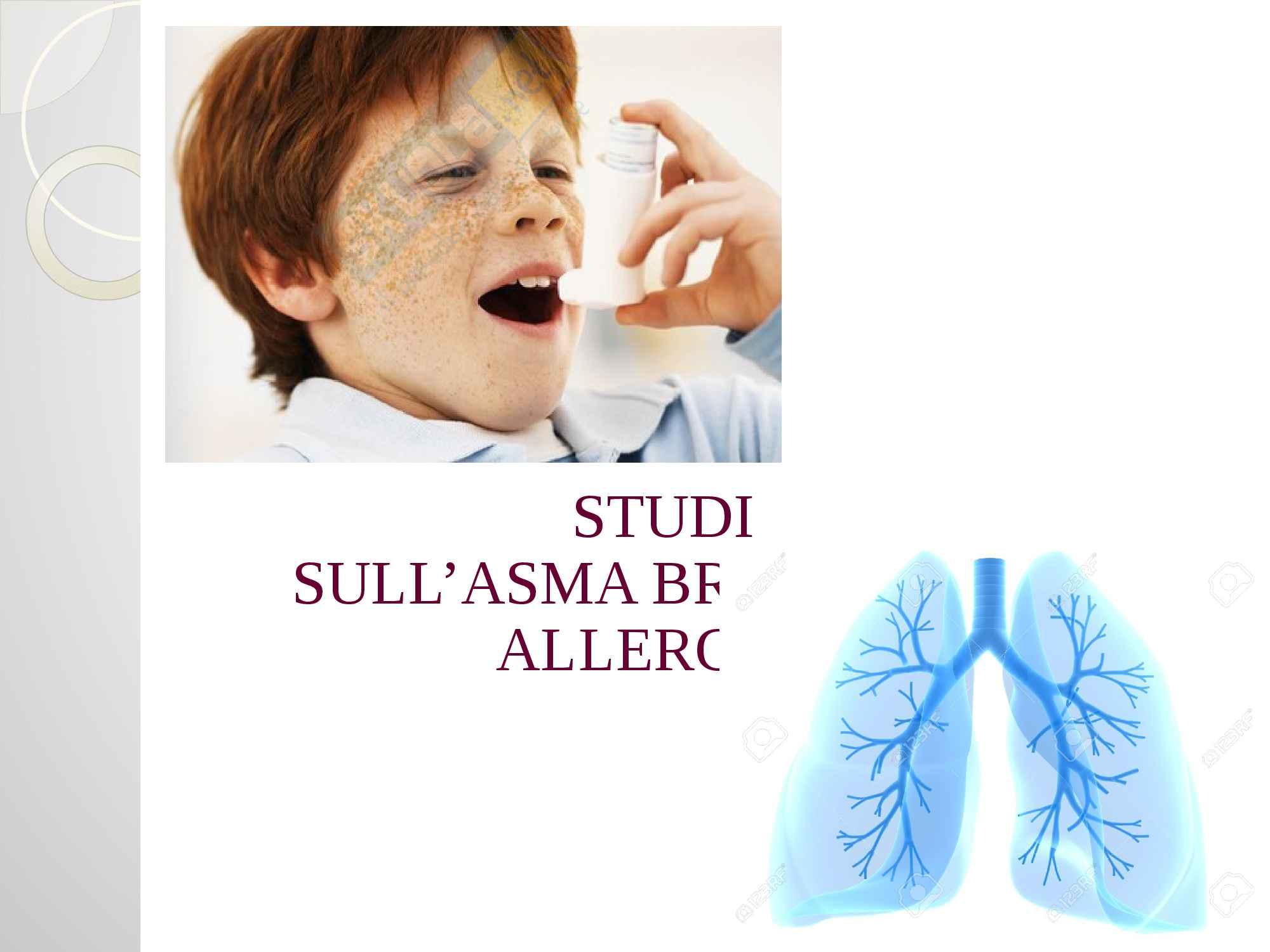 Asma e terapia farmacologica, presentazione