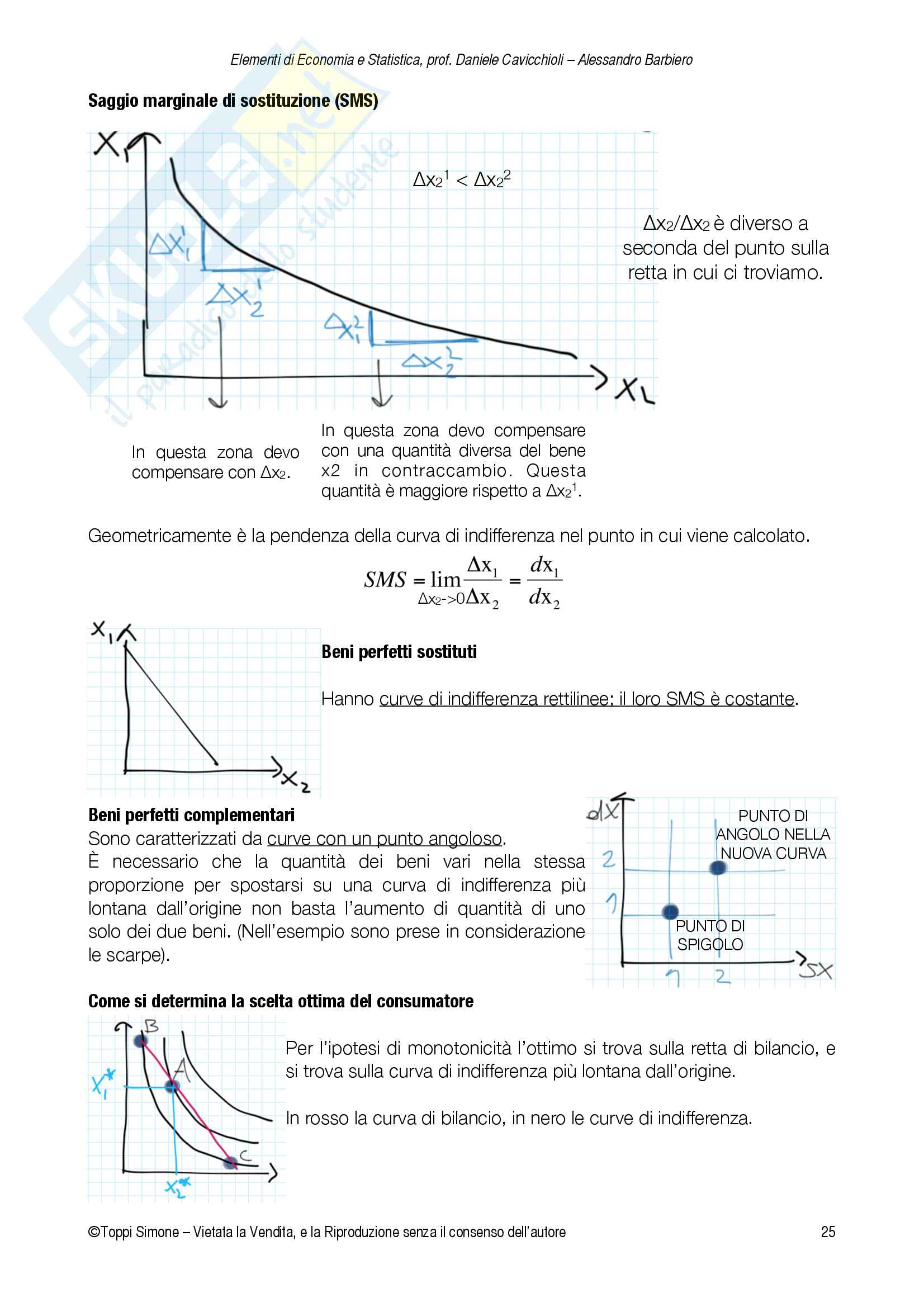 Appunti Economia e Statistica Pag. 26