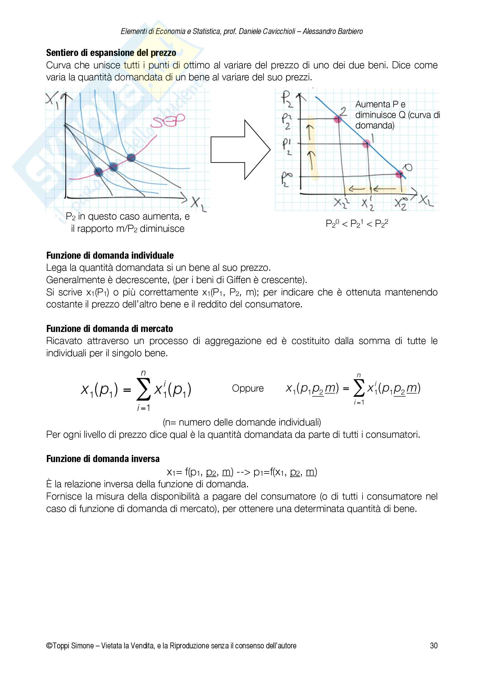 Appunti Economia e Statistica Pag. 31