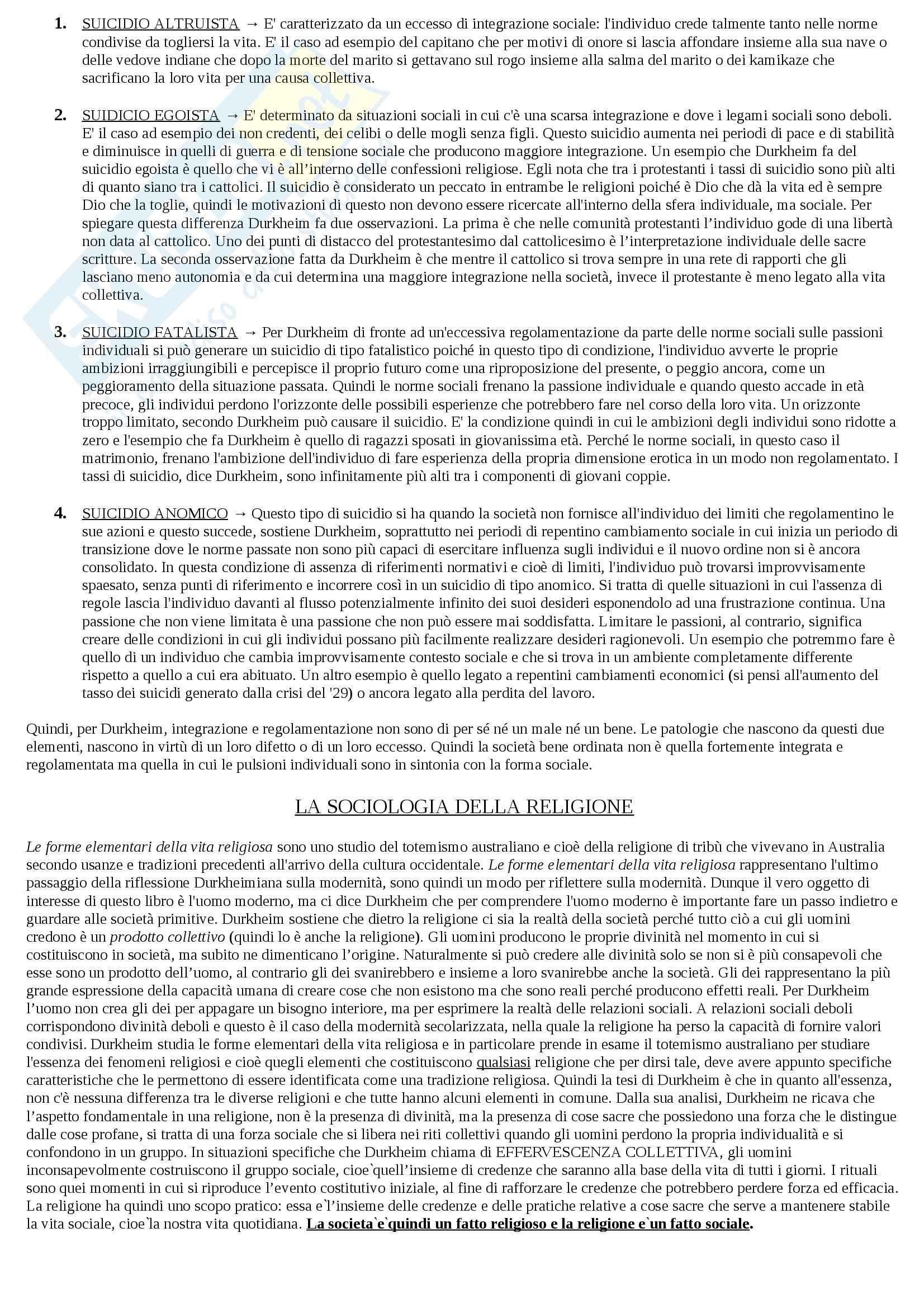 Riassunto esame Sociologia, prof. Hassan, libro consigliato Introduzione alla sociologia, Santambrogio Pag. 16