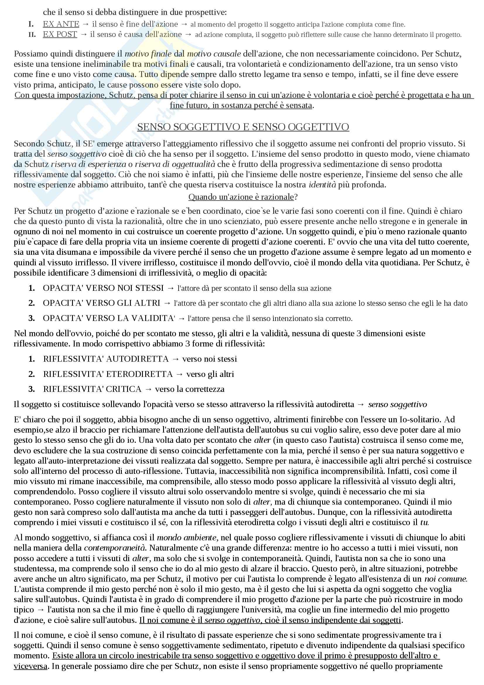 Riassunto esame Sociologia, prof. Hassan, libro consigliato Introduzione alla sociologia, Santambrogio Pag. 41