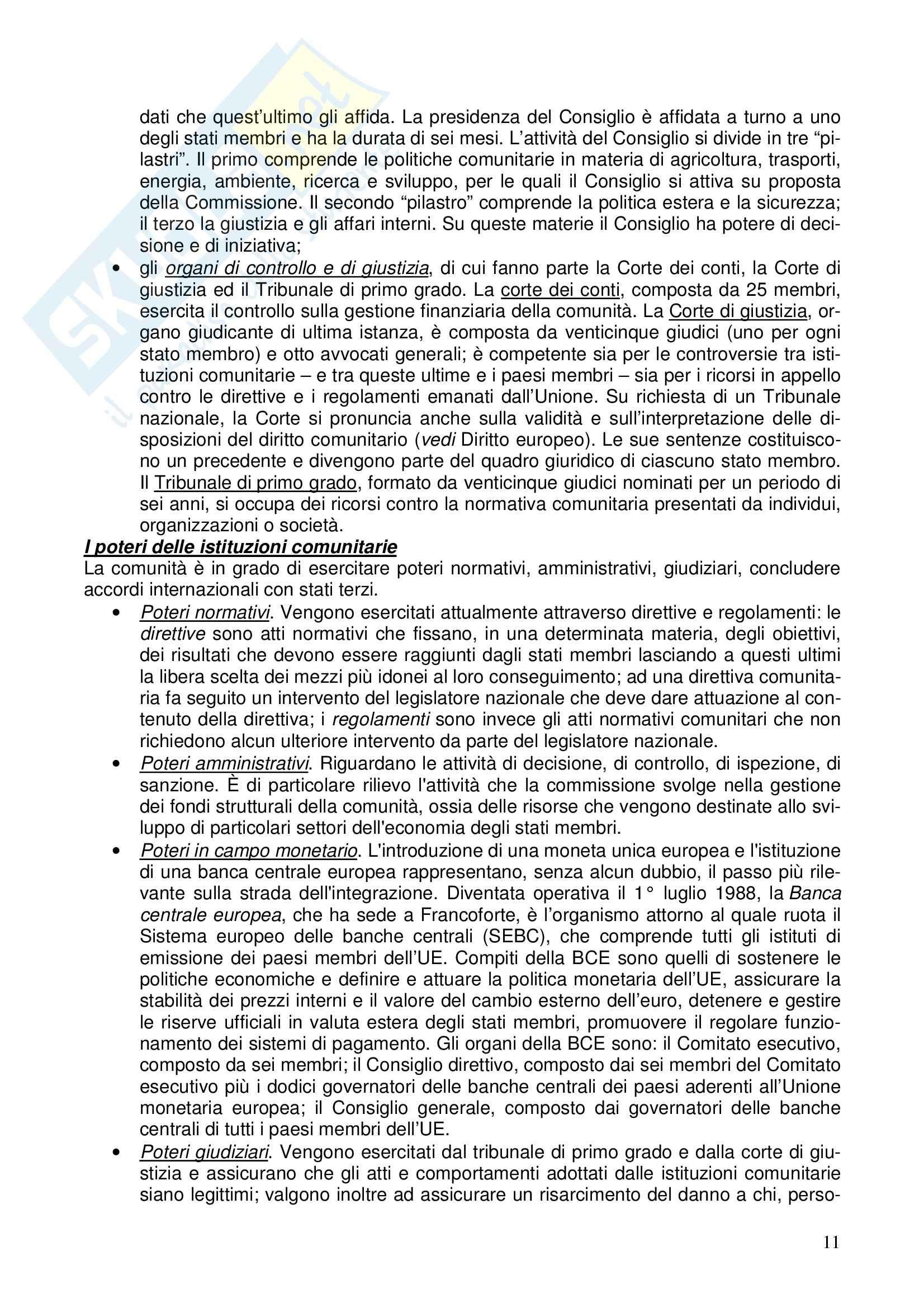 Diritto costituzionale - Riassunto esame, prof. Girelli Pag. 11