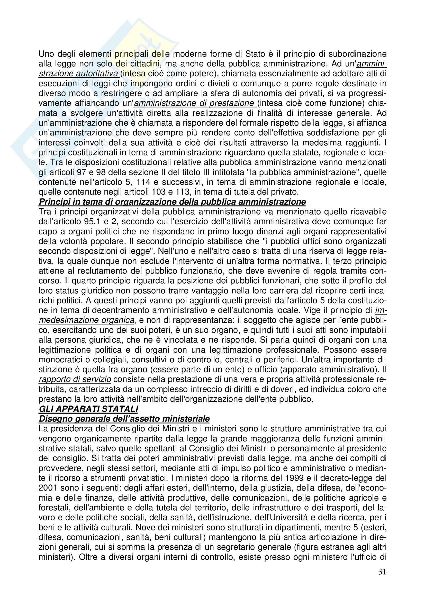 Diritto costituzionale - Riassunto esame, prof. Girelli Pag. 31