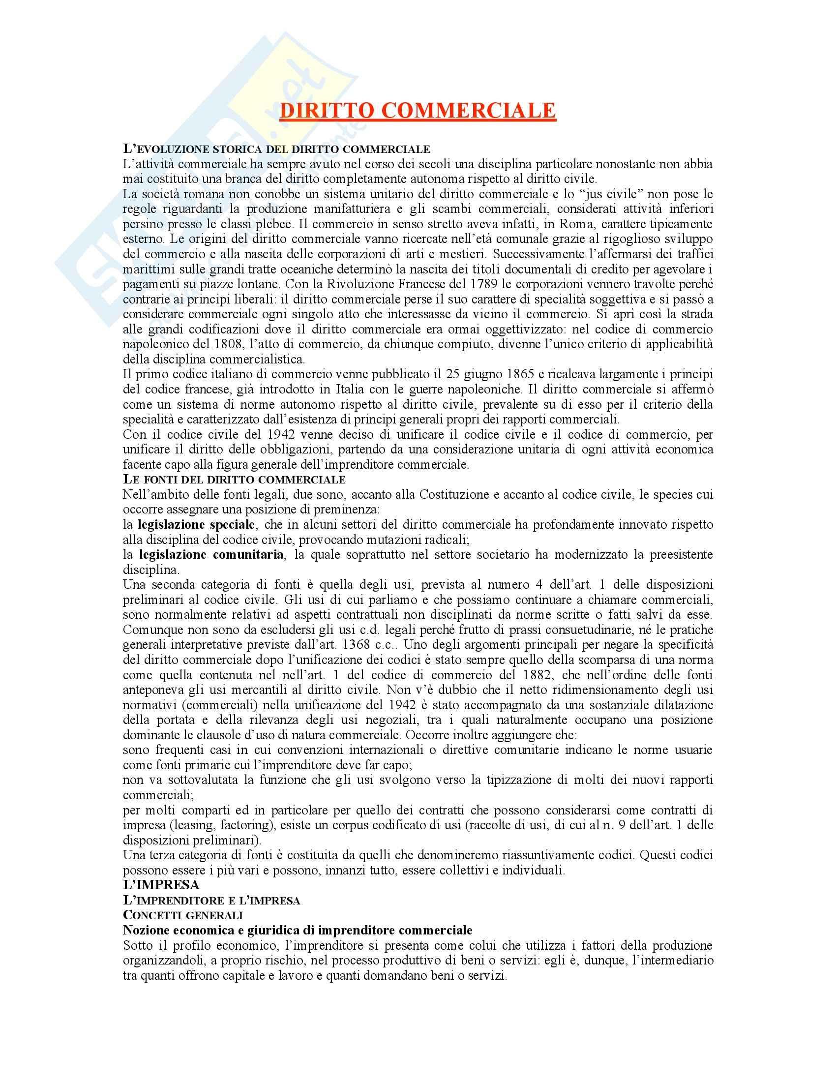 Diritto commerciale  - G. Campobasso