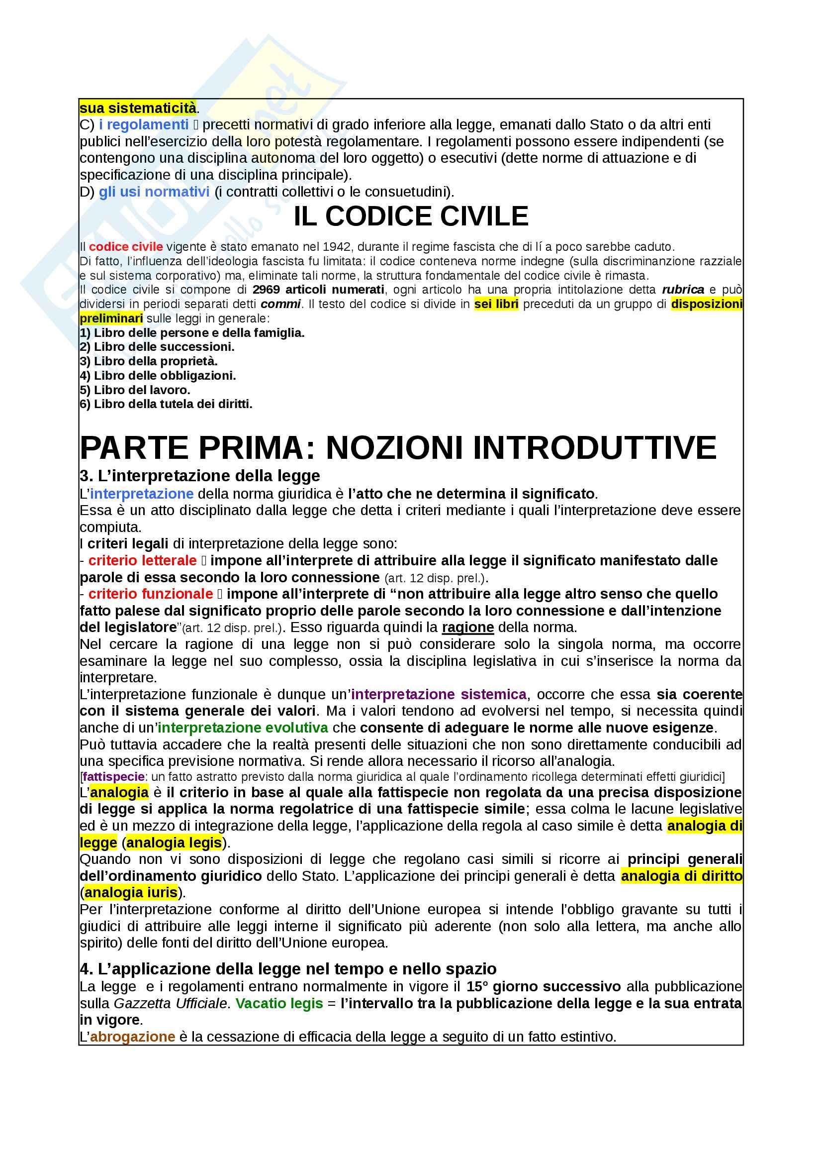 Appunti Diritto Privato Pag. 2