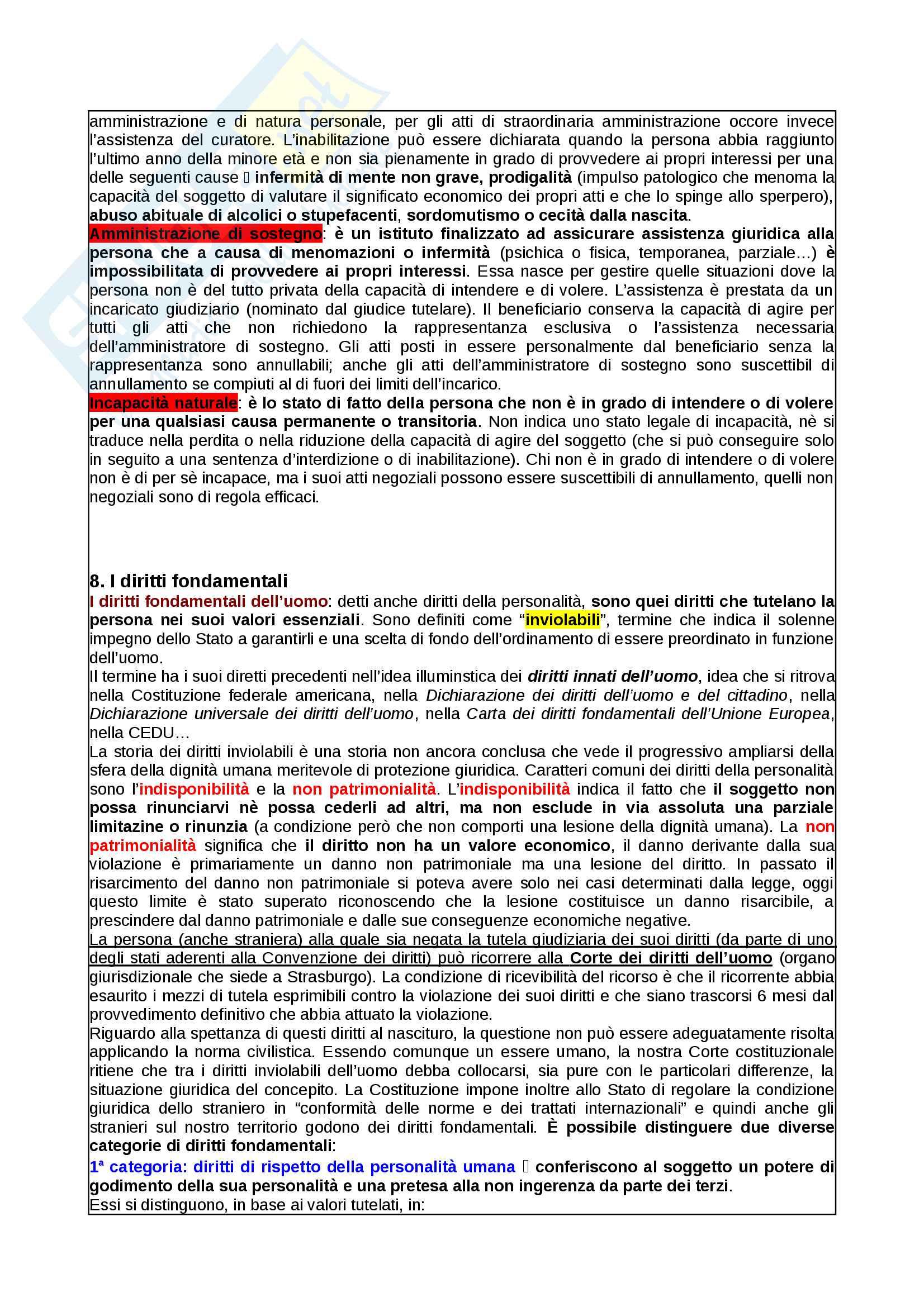 Appunti Diritto Privato Pag. 6