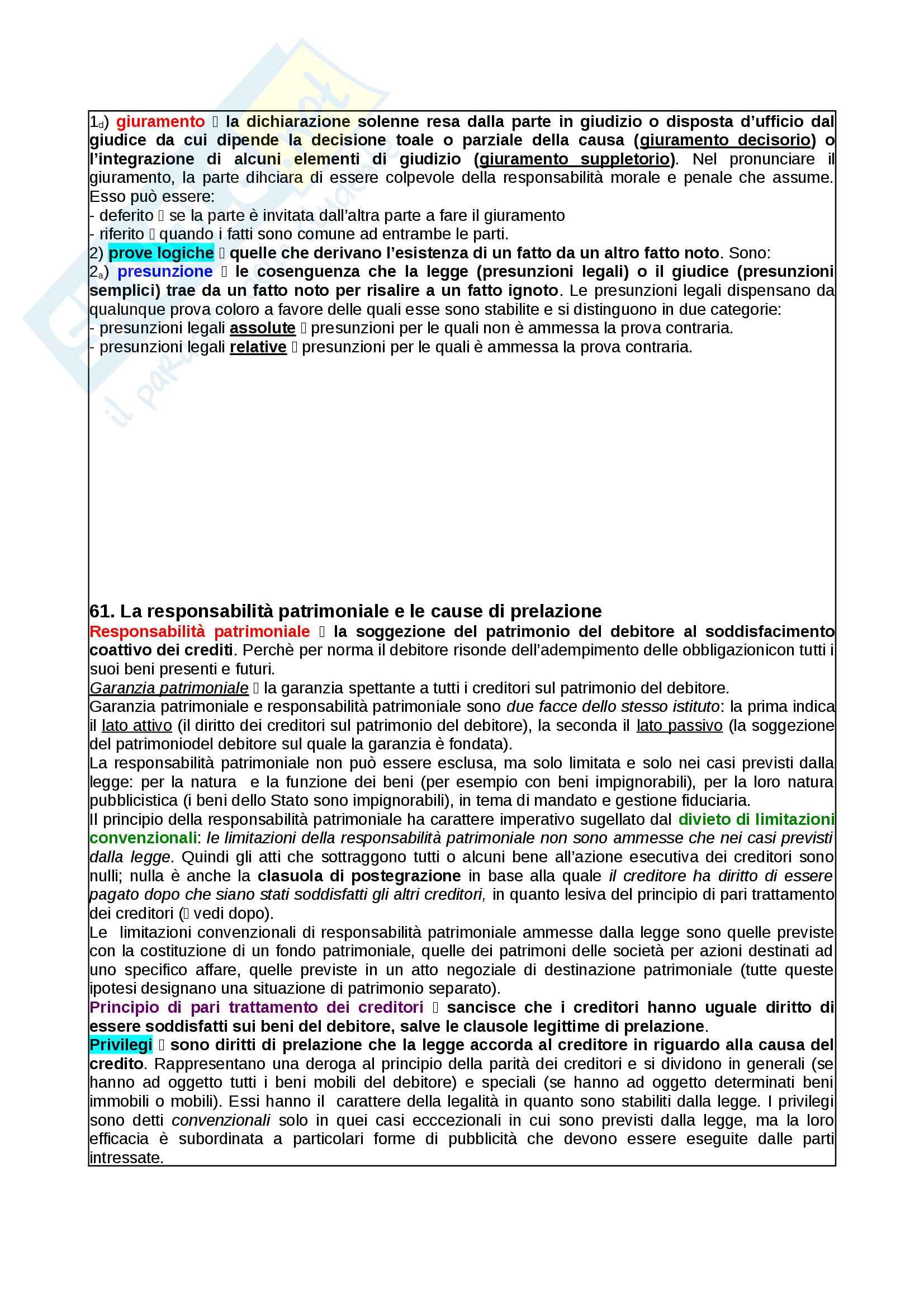 Appunti Diritto Privato Pag. 61
