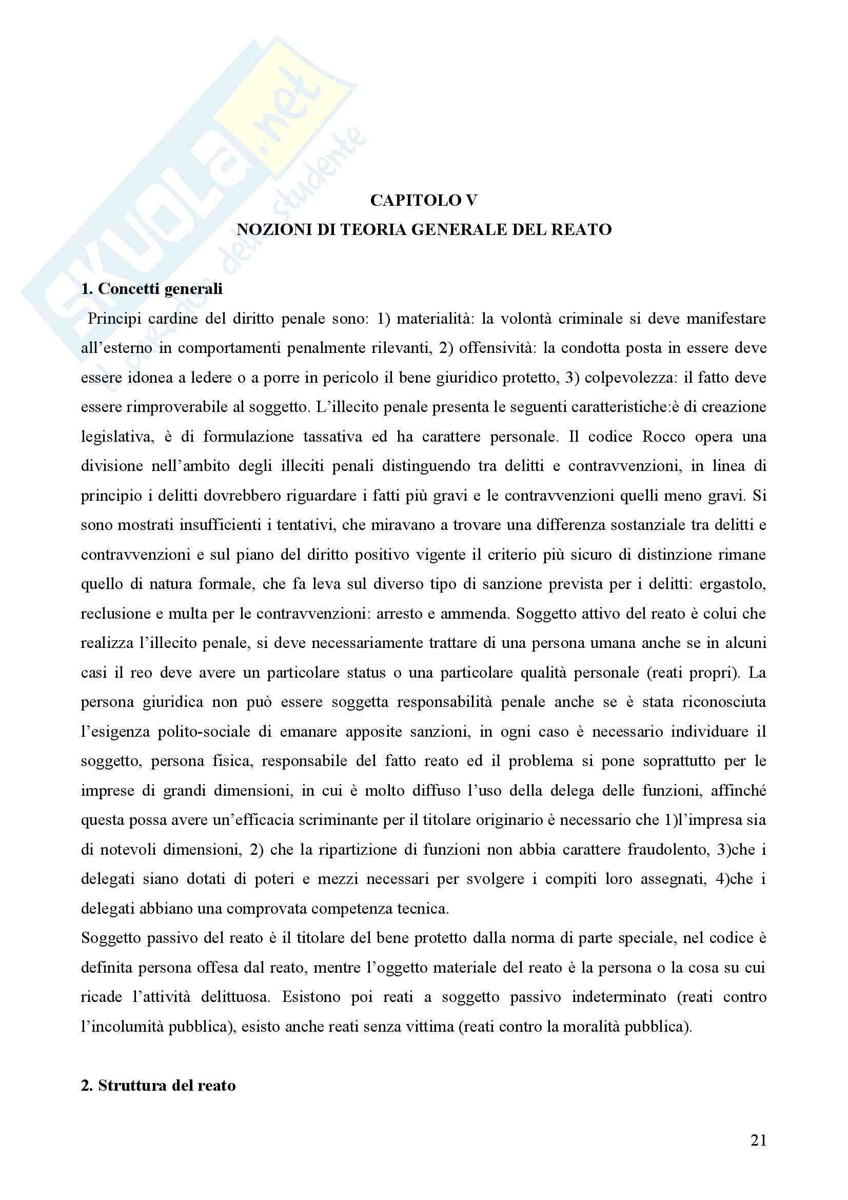 Diritto penale - Appunti Pag. 21