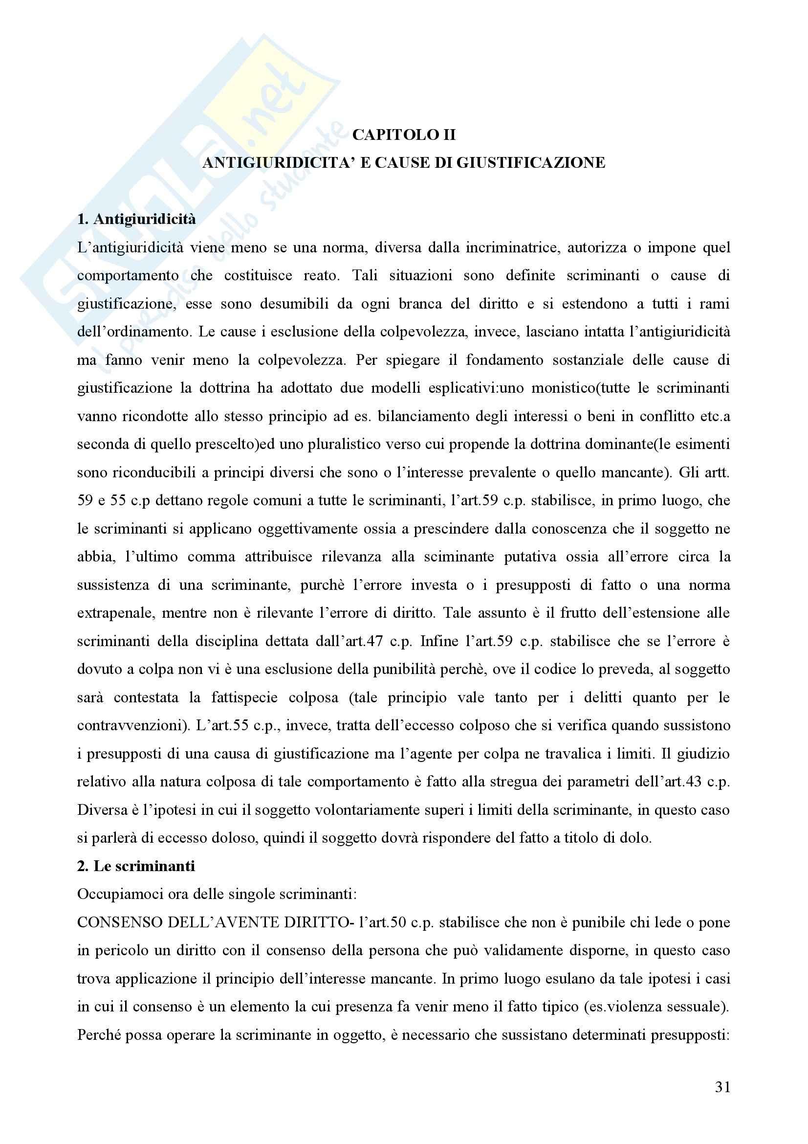 Diritto penale - Appunti Pag. 31