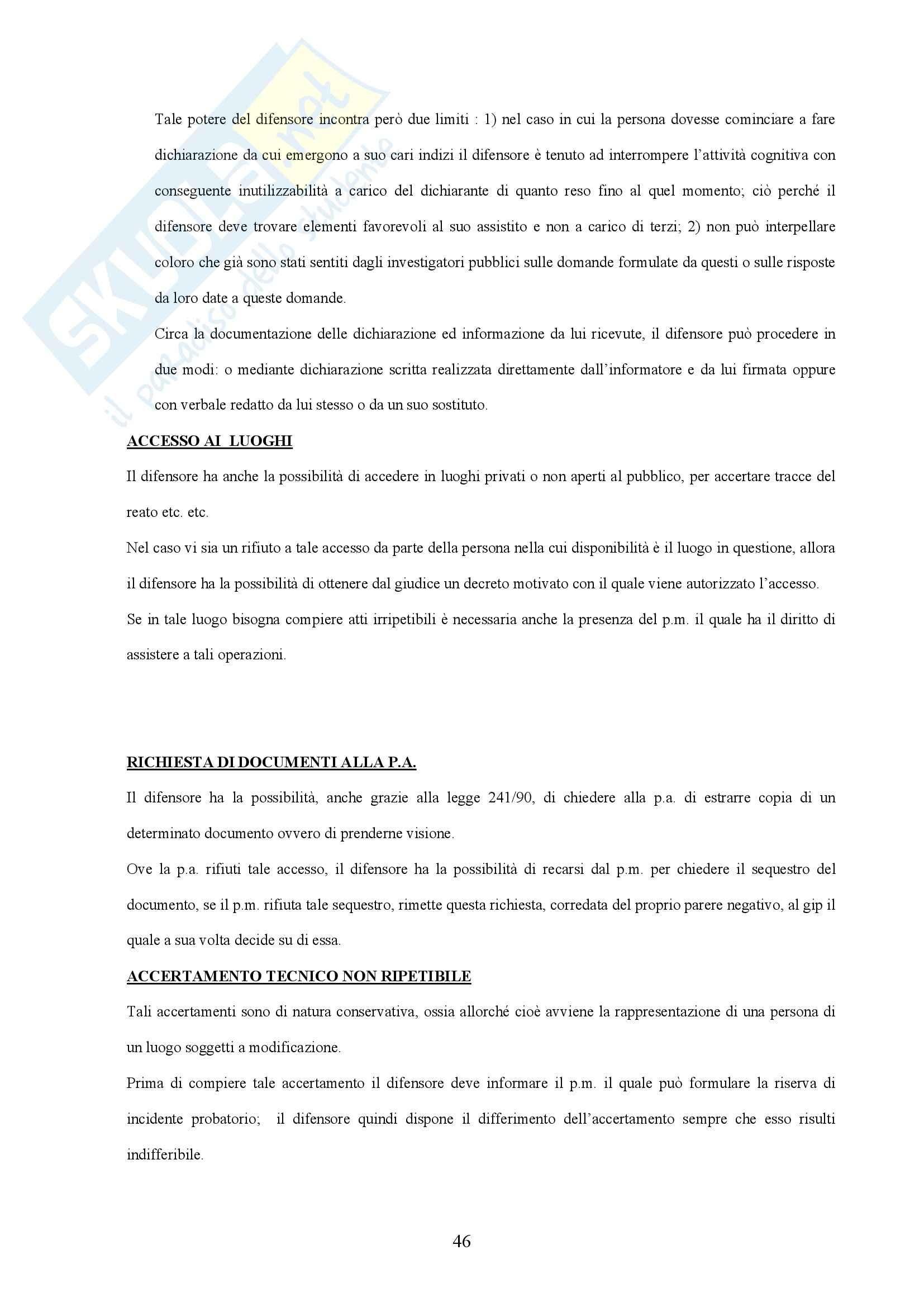 Diritto processuale penale - Corso completo Pag. 46
