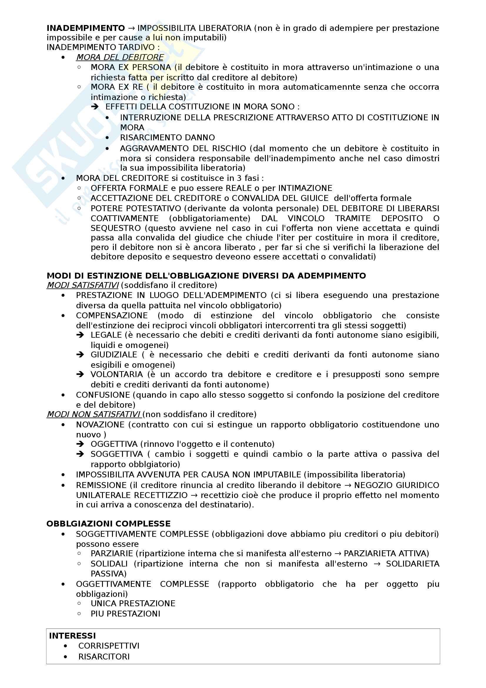 Schema riassuntivo Diritto privato(prof Finessi) Pag. 2