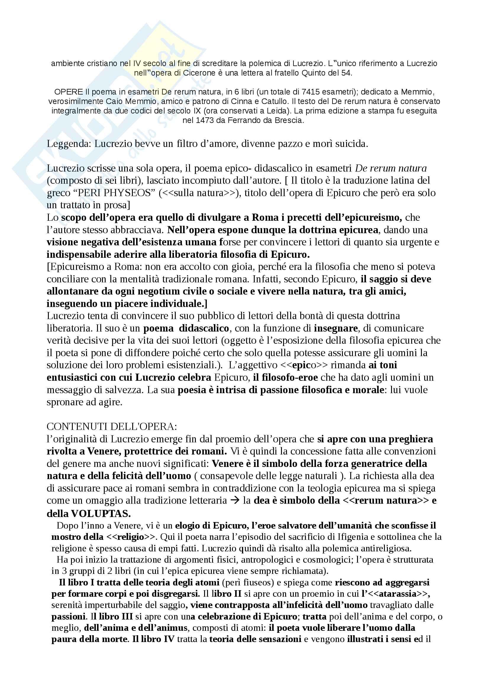 Riassunti Latino Pag. 16