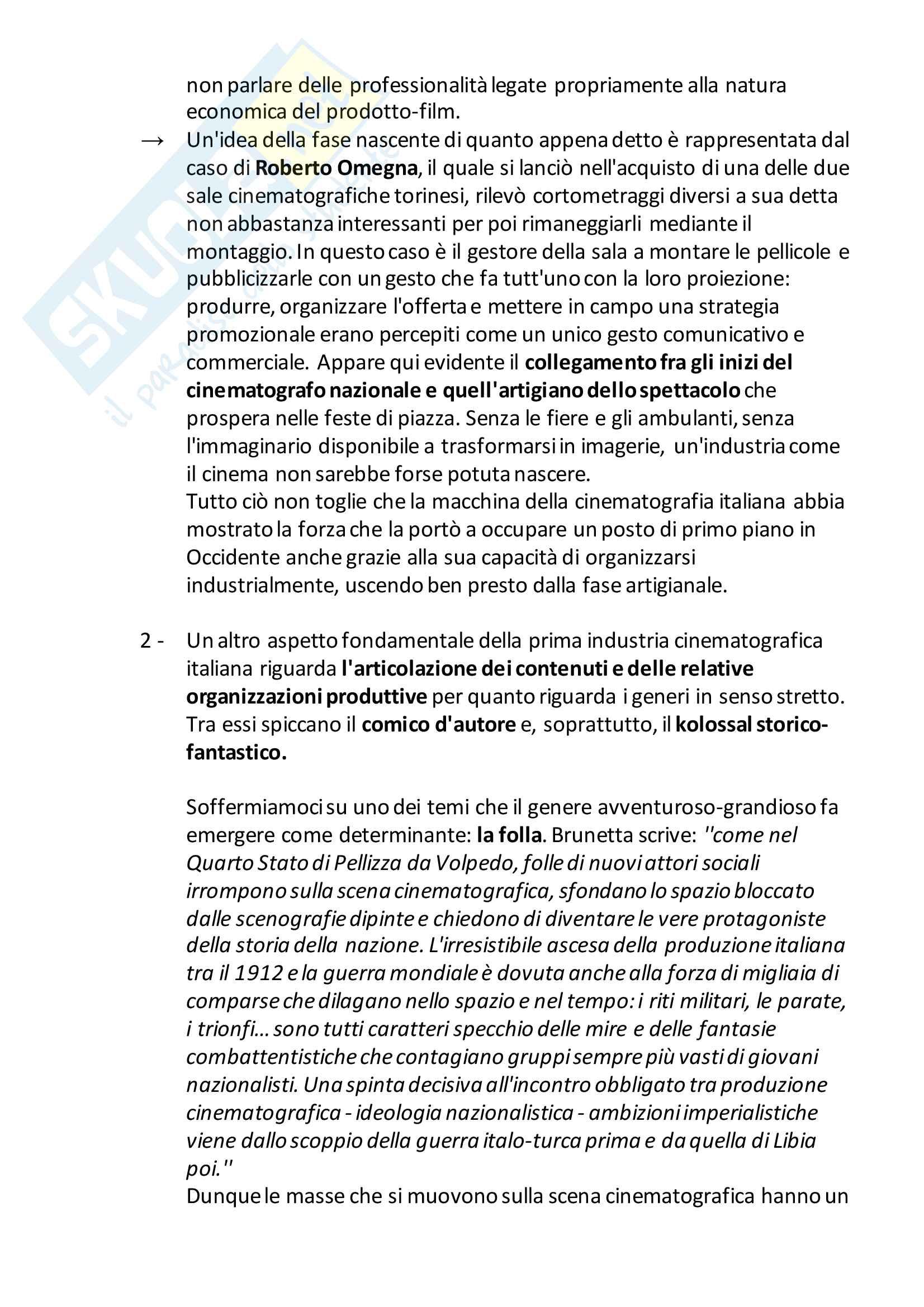 Appunti: 3- L'industria dell'immaginario (1900-18), La Cultura Sottile. Esame di Teorie della comunicazione e dei media, F. Colombo Pag. 11