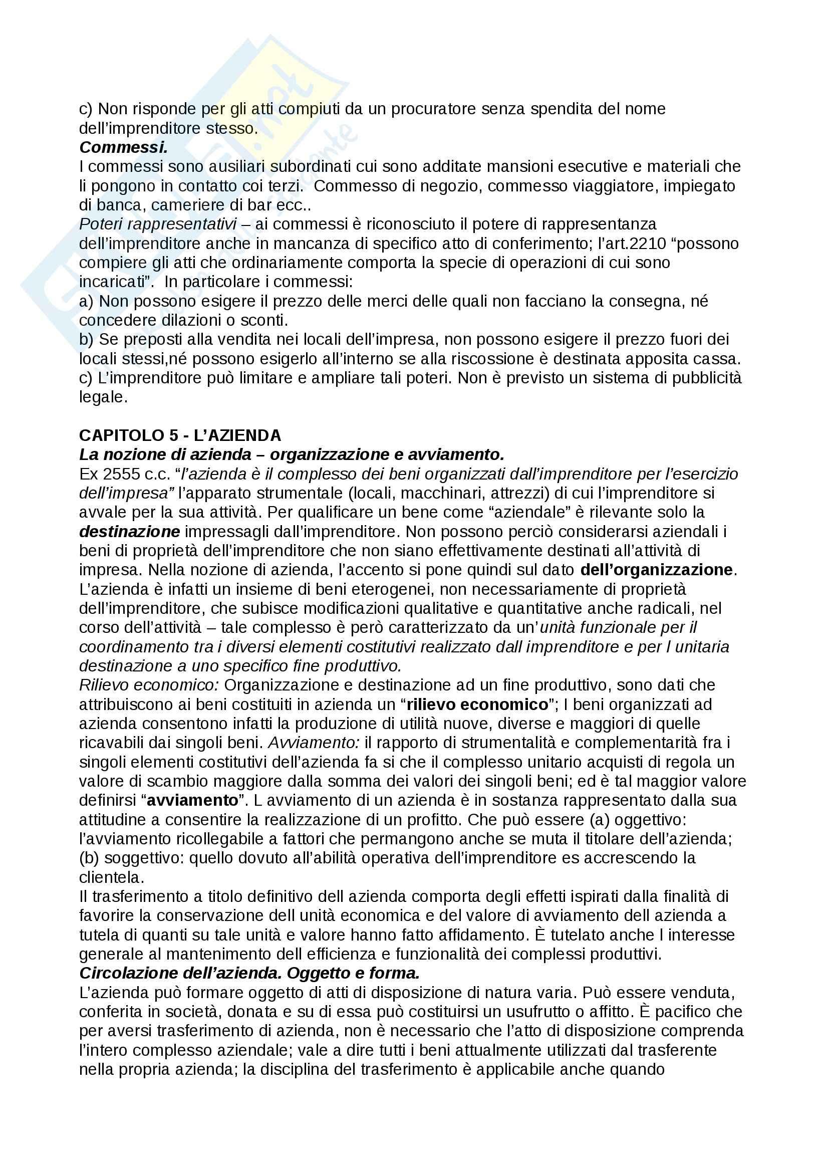 sunto diritto commerciale professor campobasso manuale consigliato campobasso Pag. 21