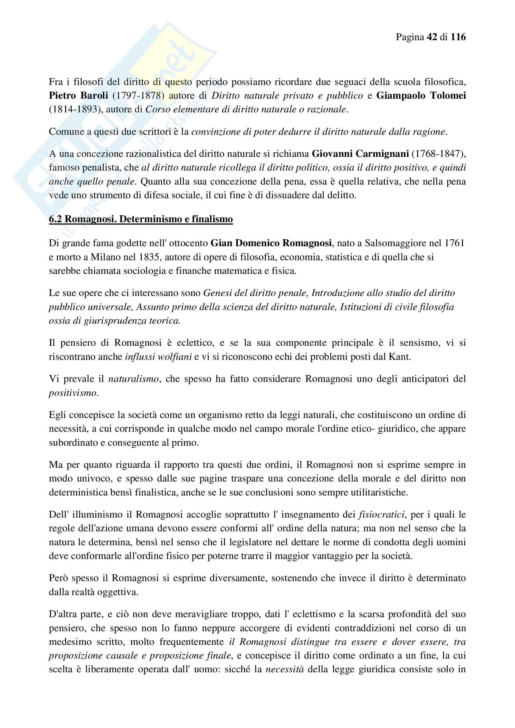 Riassunto esame Filosofia del Diritto, prof. Moroni, libro consigliato Filosofia del Diritto, Fassò Pag. 41