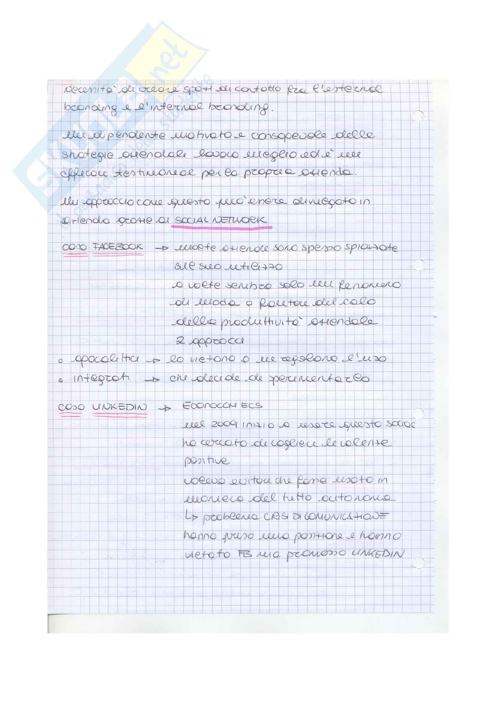 Riassunto esame Pubblicità, prof. Musso, libro consigliato Brand reloading, Musso Pag. 11