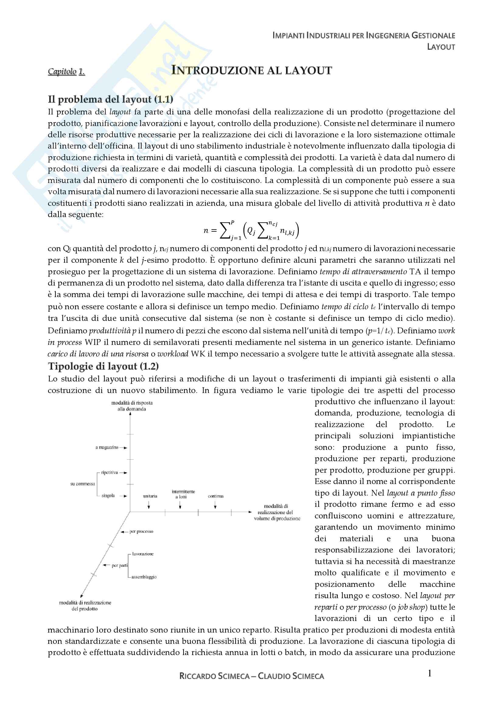 Impianti Industriali - Layout Pag. 2
