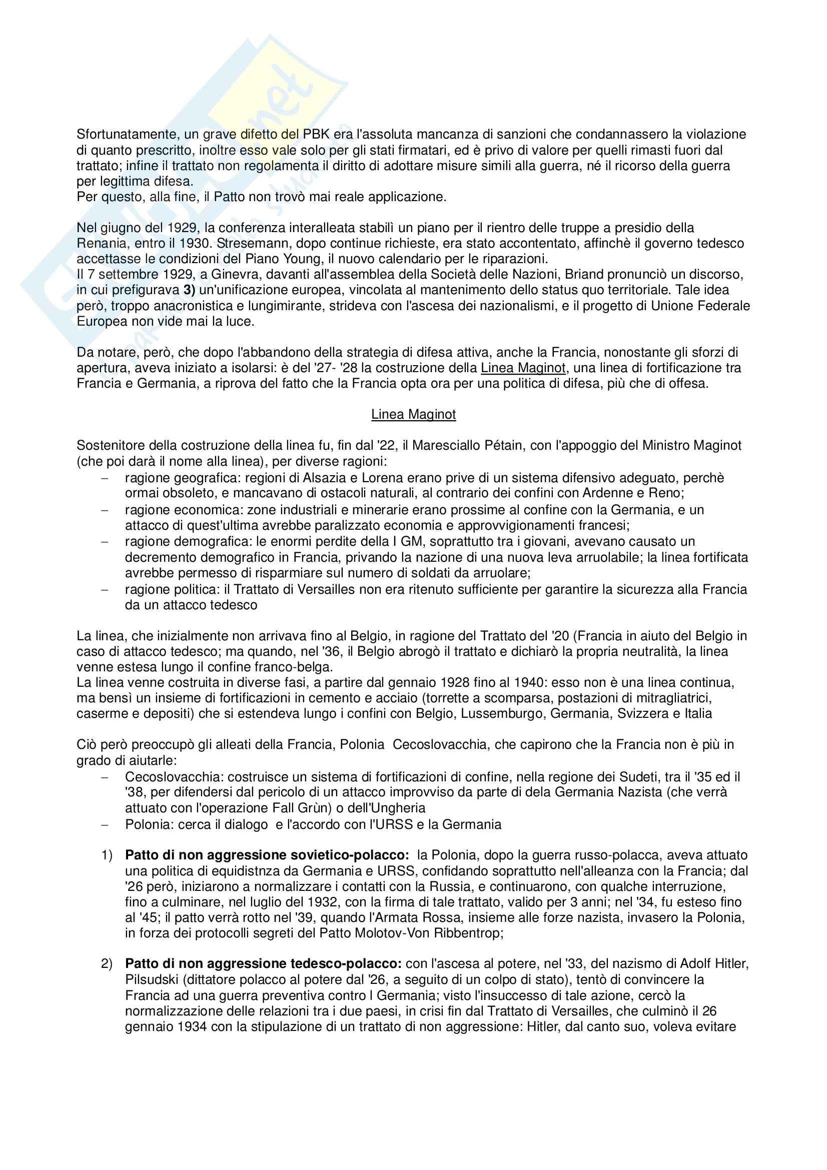 Storia delle relazioni internazionali - Appunti Pag. 21