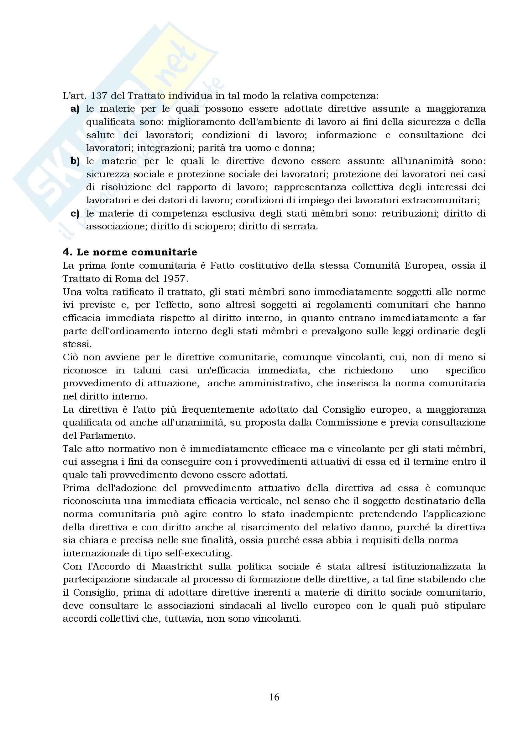 Lezioni di diritto del lavoro, Del Punta Pag. 16