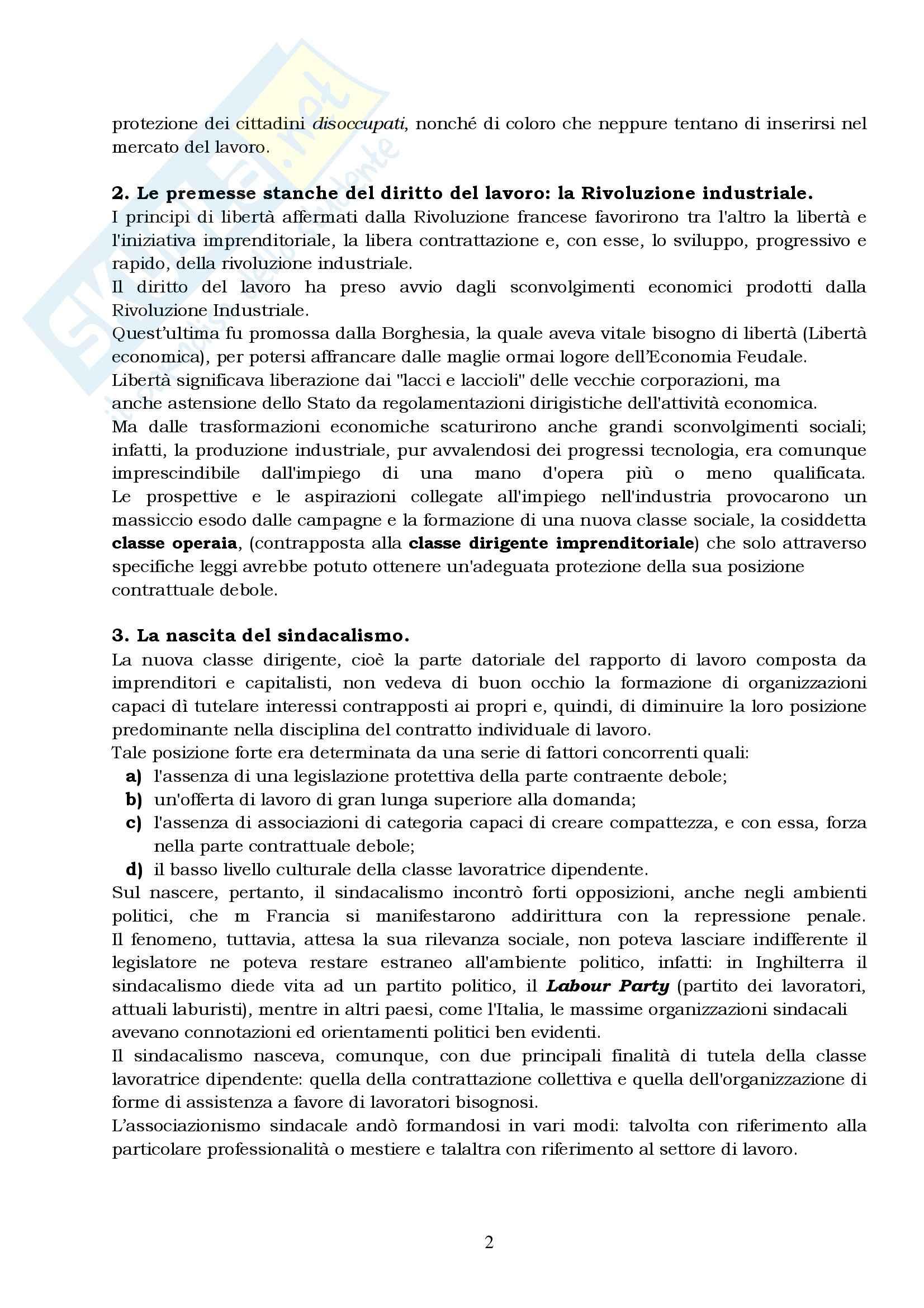 Lezioni di diritto del lavoro, Del Punta Pag. 2